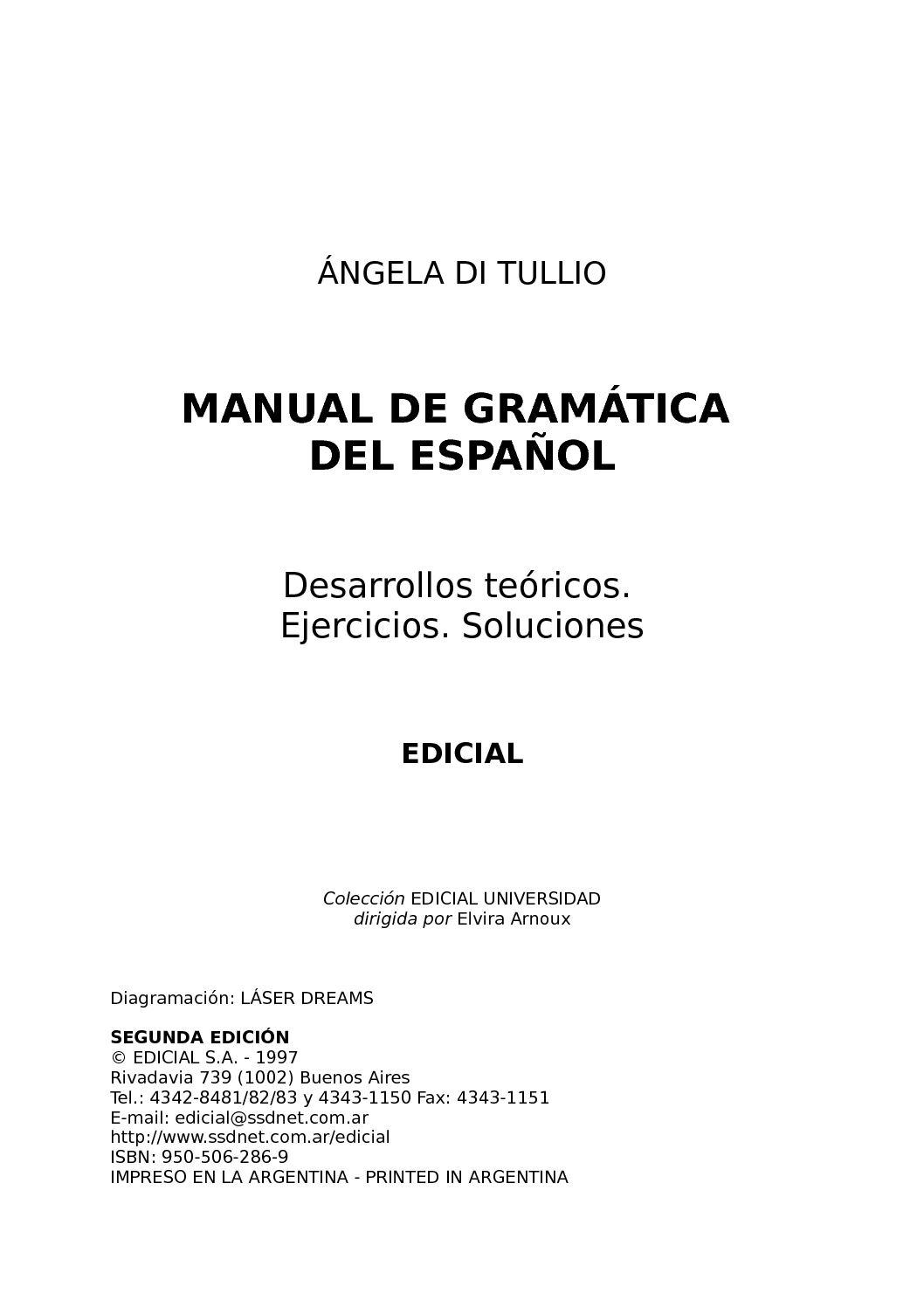Calaméo - MANUAL DE GRAMÁTICA