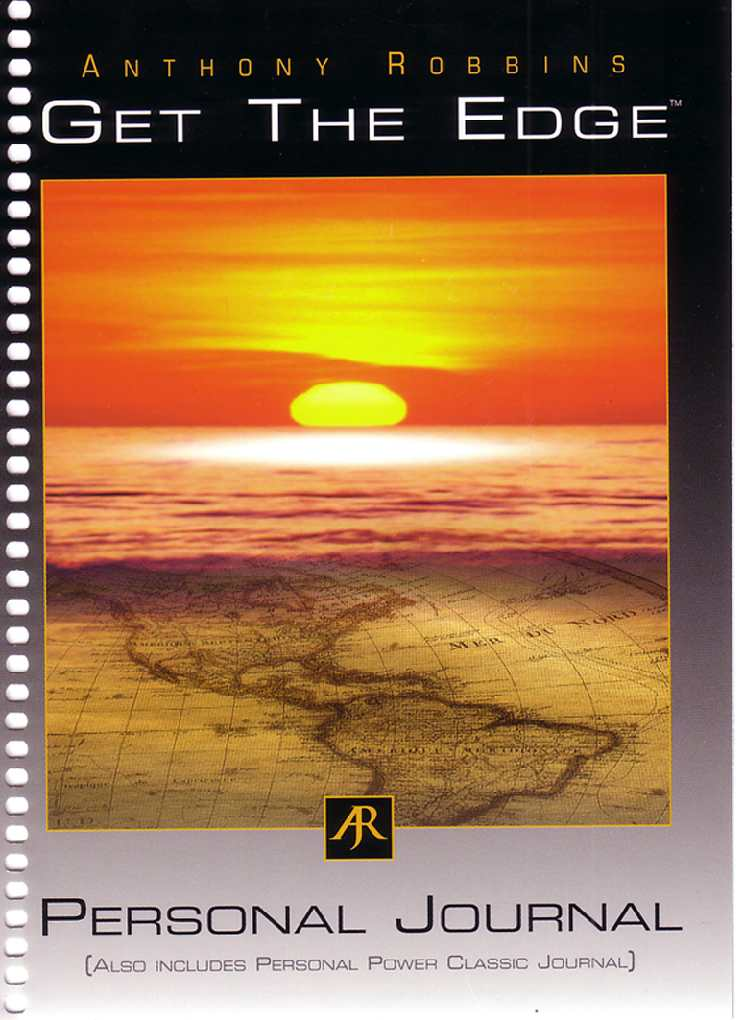 Anthony Robbins - Get The Edge - Personal journal
