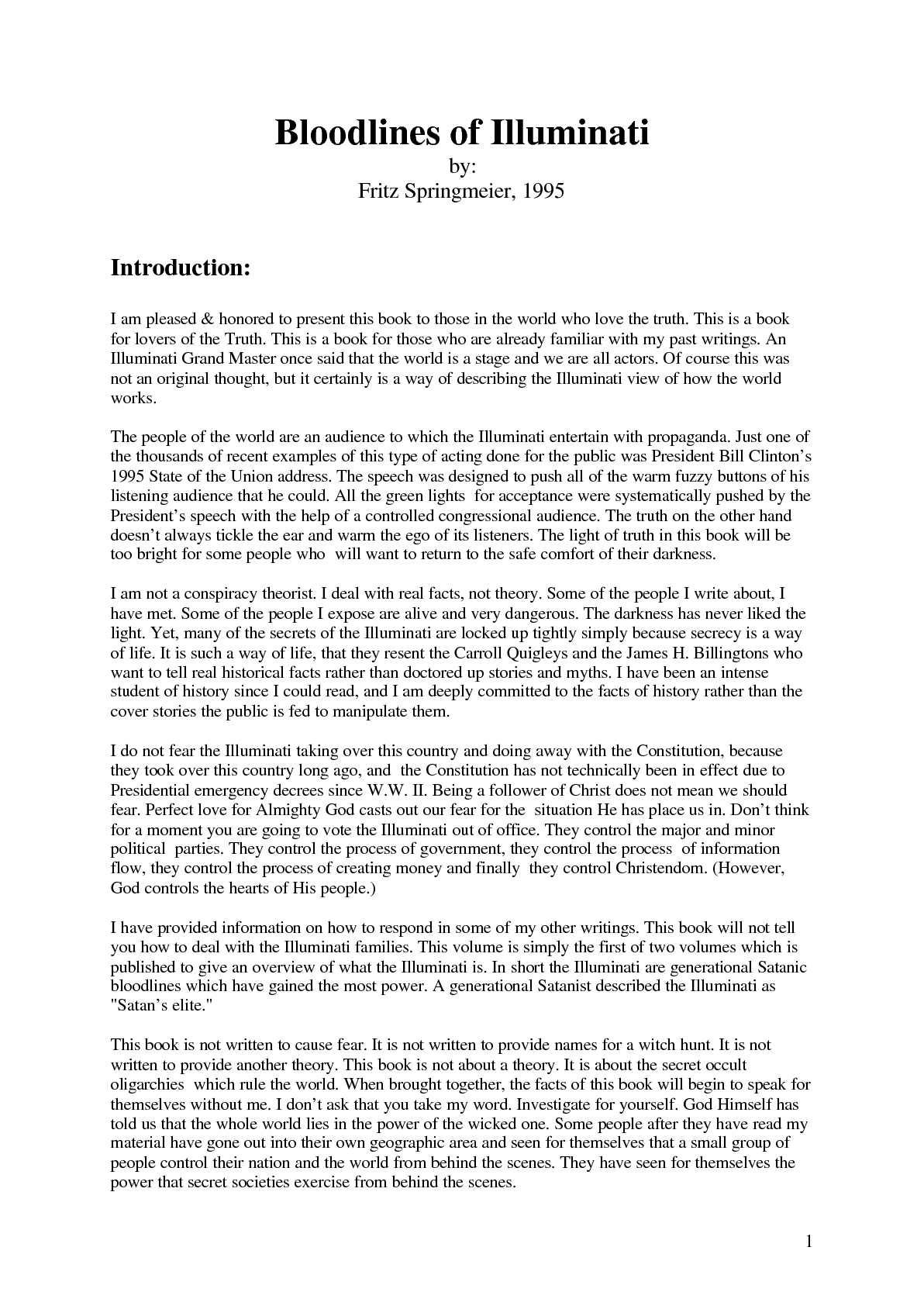 David Icke - Bloodlines of the Illuminati