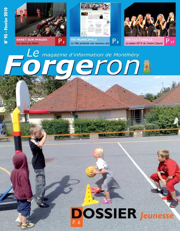 Calam o le forgeron n 95 magazine municipal de montlh ry - Office des oeuvres universitaires pour le centre bourse ...