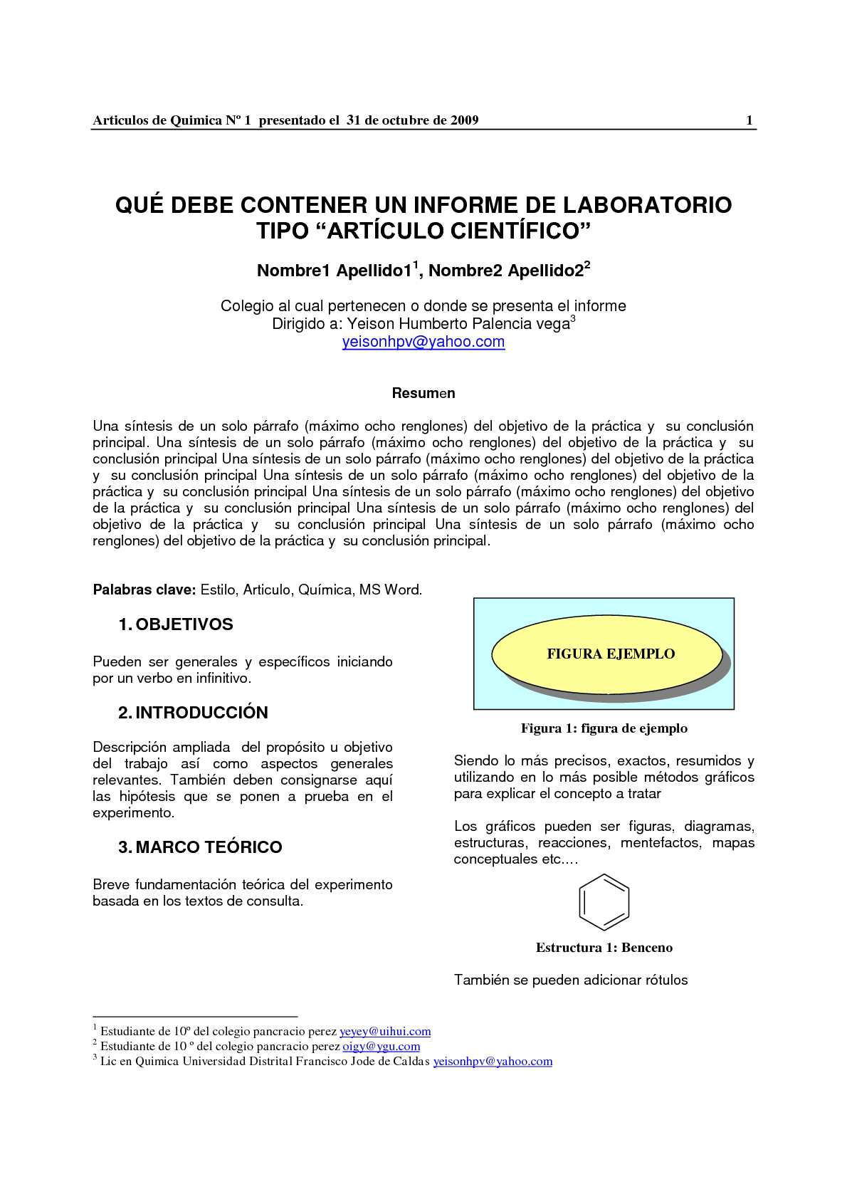 Calaméo - formato informe como articulo cientifico