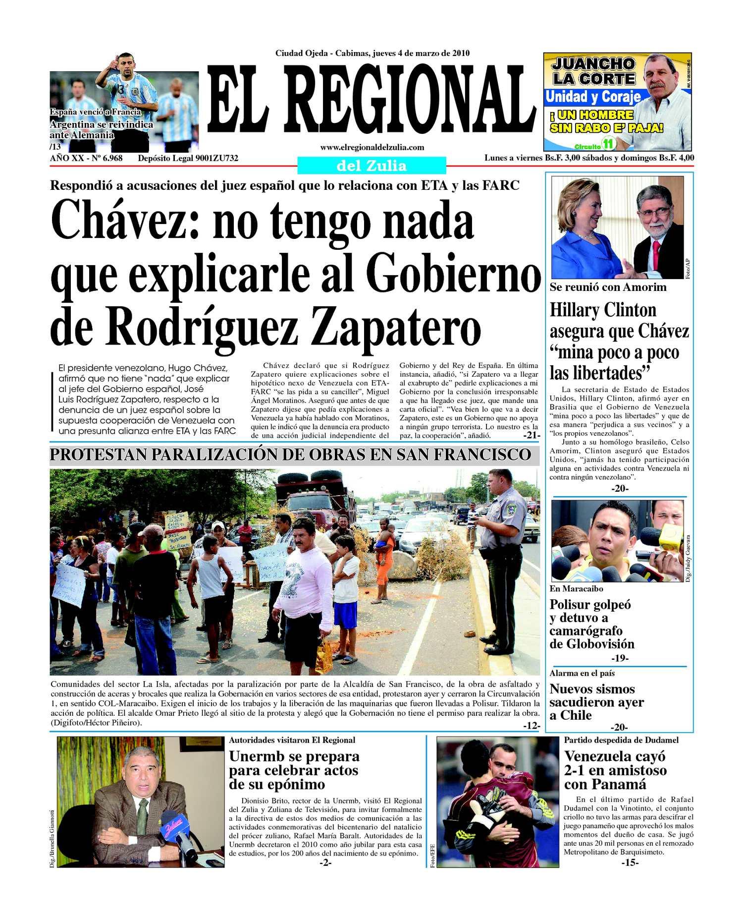 El Regional del Zulia | 04-03-2010