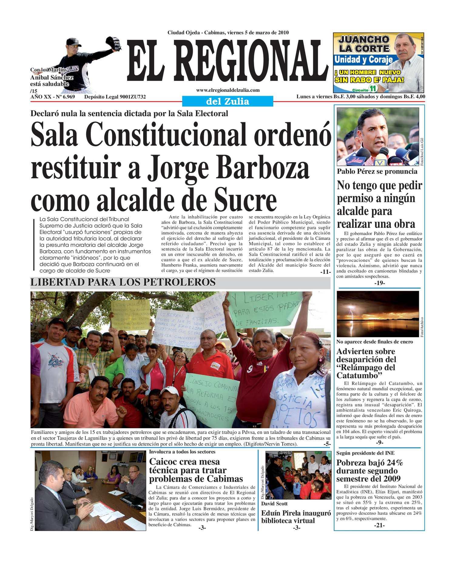 El Regional Del Zulia 05-03-2010