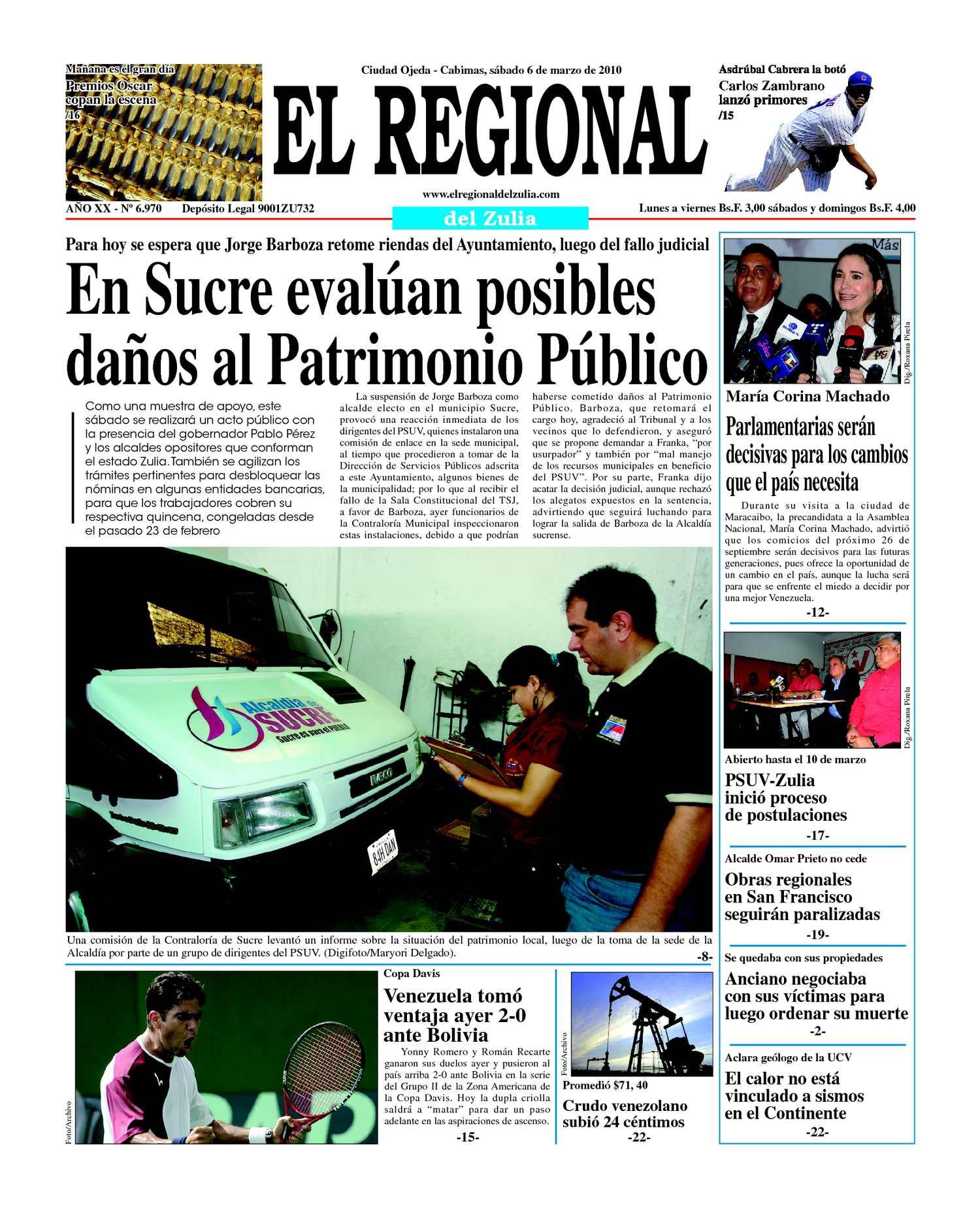 El Regional del Zulia | 06-03-2010