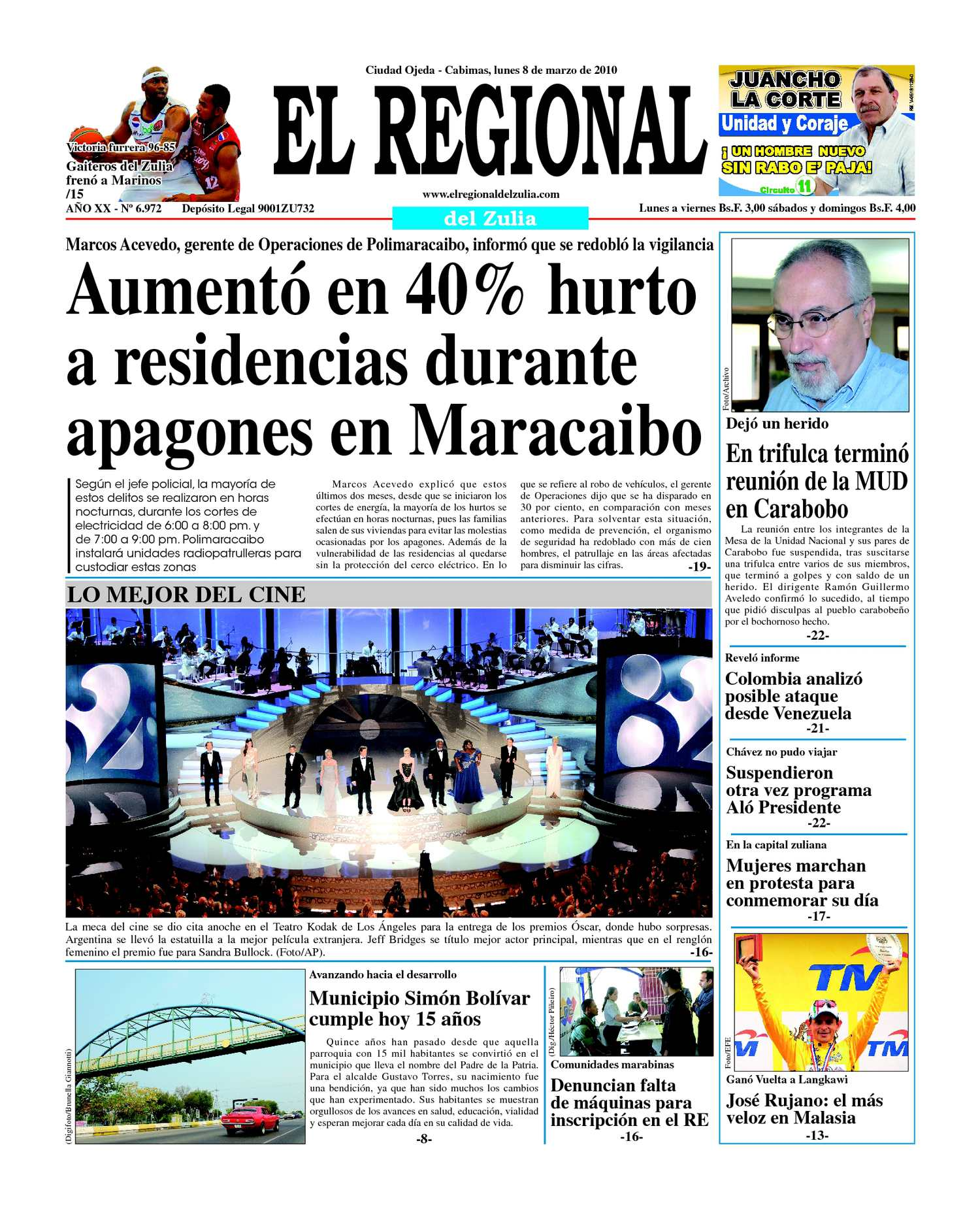El Regional del Zulia | 08-03-2010
