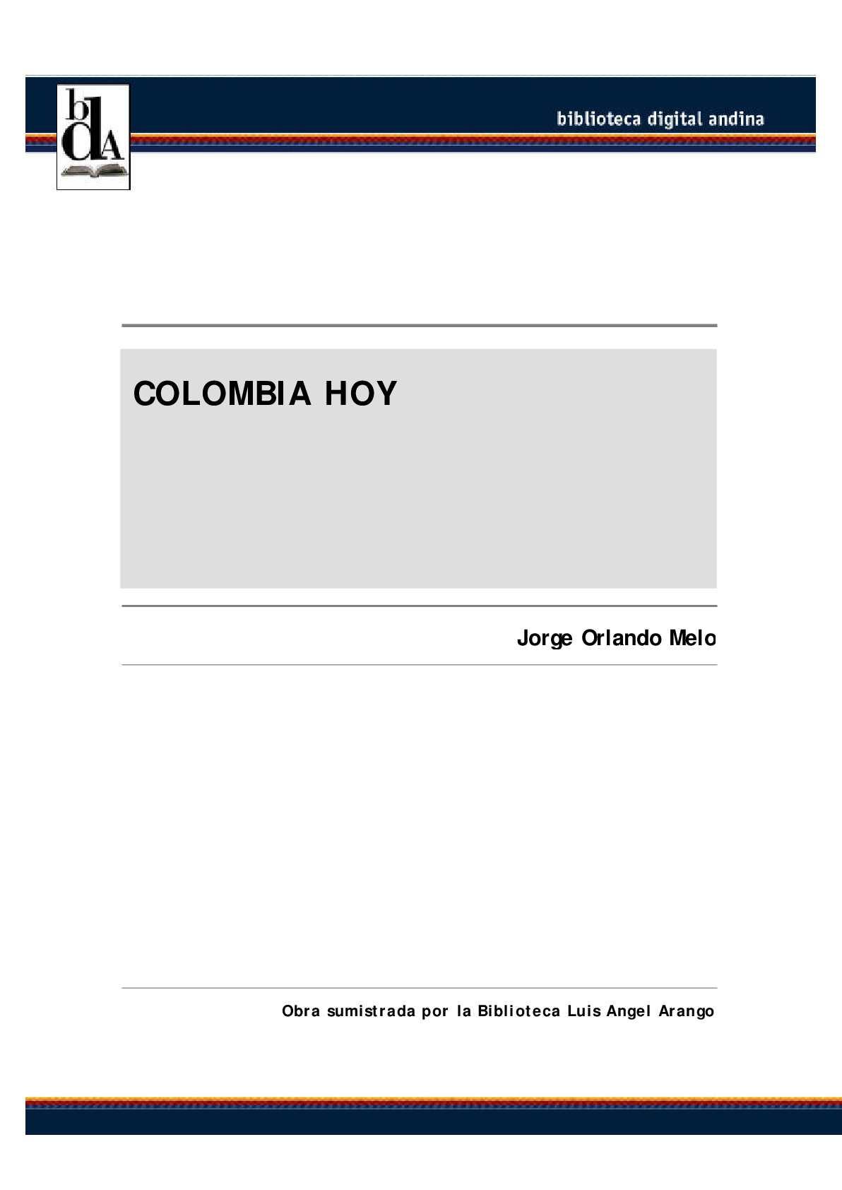Calaméo - Reseña historica de colombia