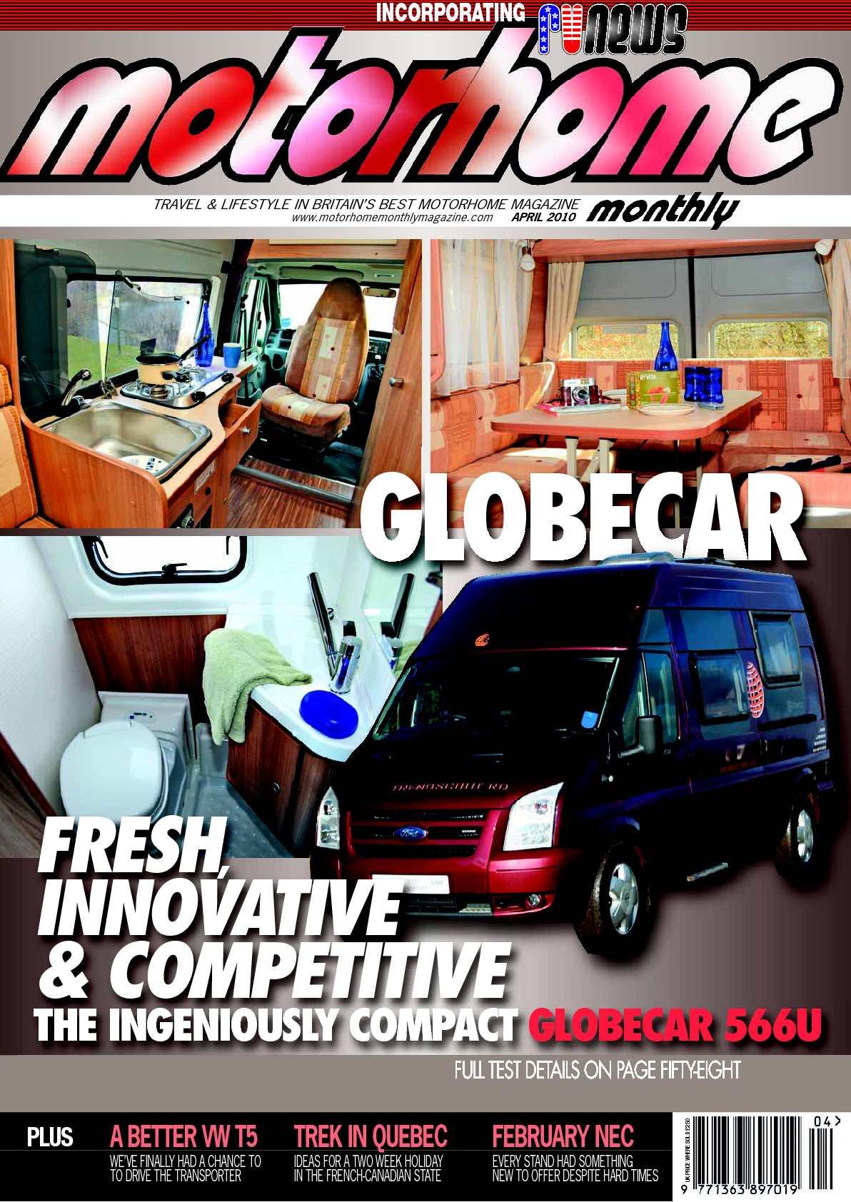 Calaméo April 2010 Motorhome Monthly Magazine