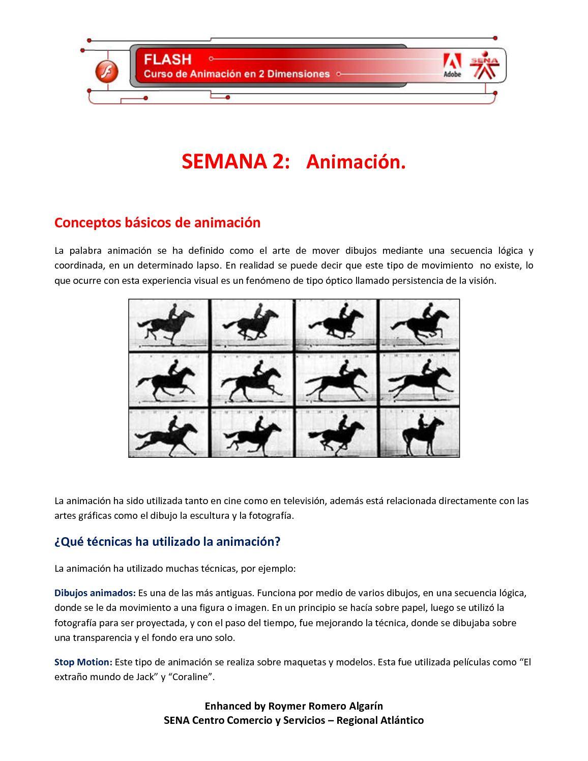 Calaméo - SEMANA 2: Animación