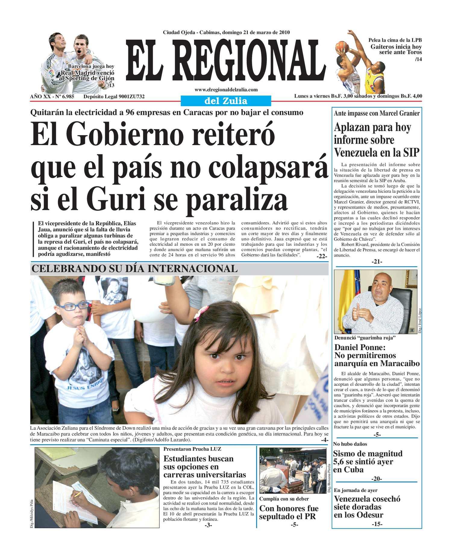 El Regional del Zulia | 21-03-2010