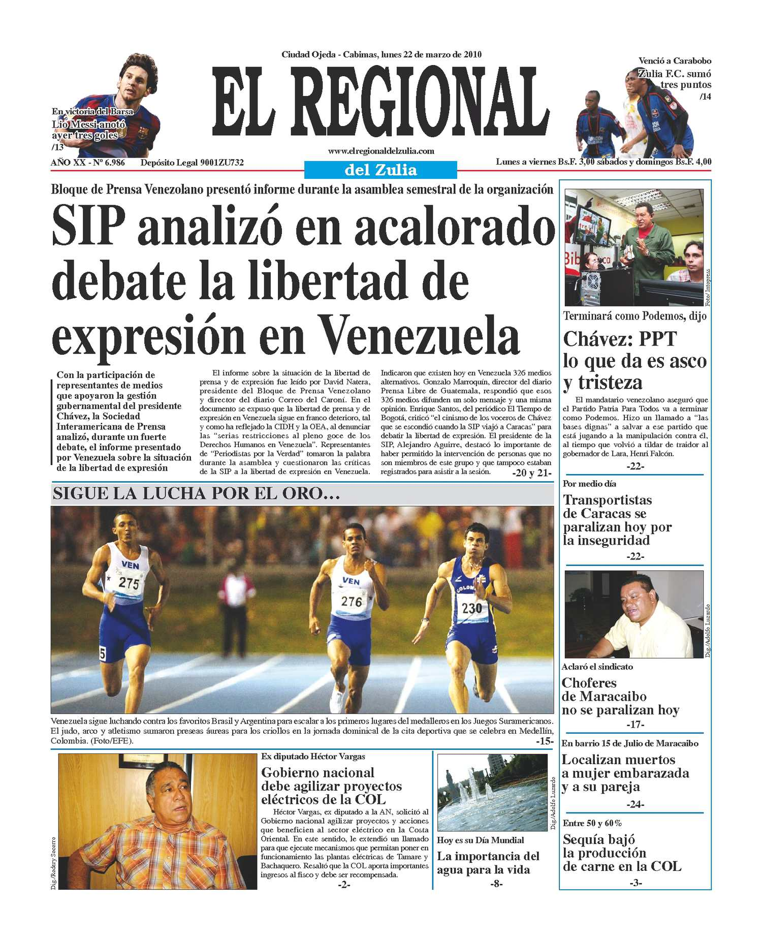 El Regional del Zulia | 22-03-2010