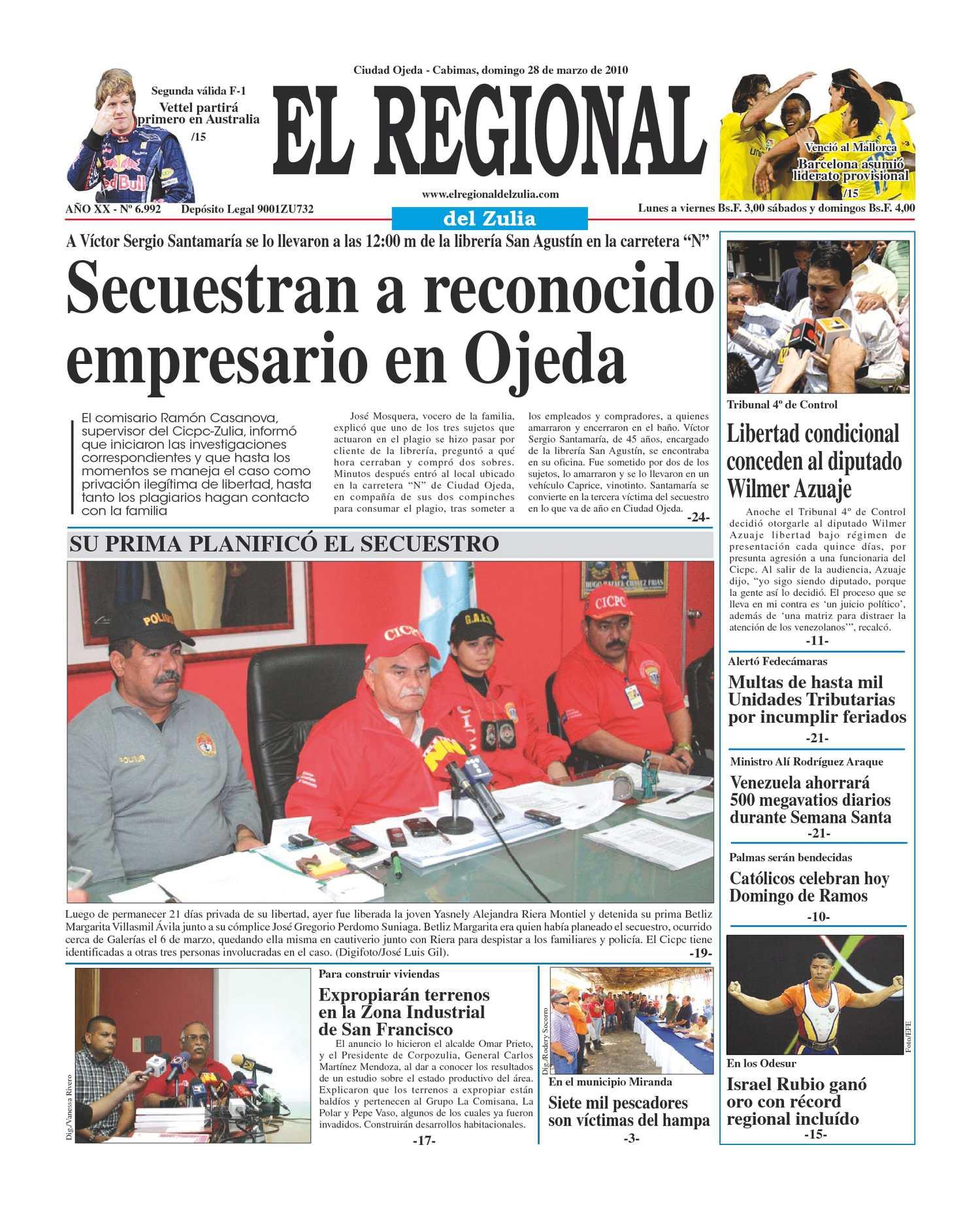 El Regional del Zulia 28-03-2010