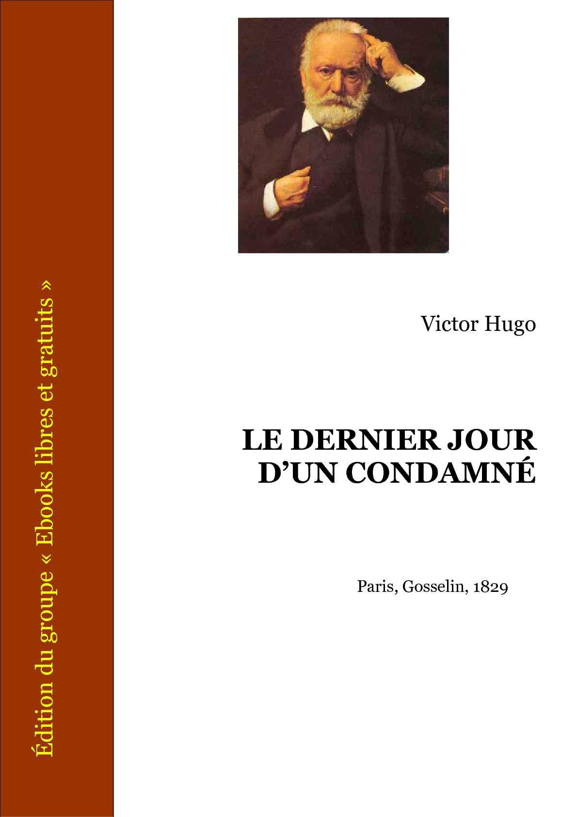 Hugo Victor, Le dernier jour d'un condamné