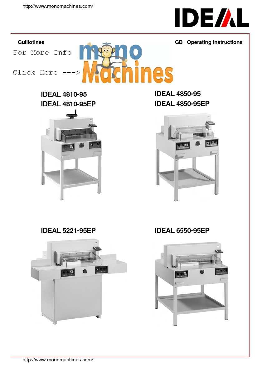 calam o triumph 4850 automatic stack paper cutter manual rh calameo com KT88 vs 6550 KT88 vs 6550