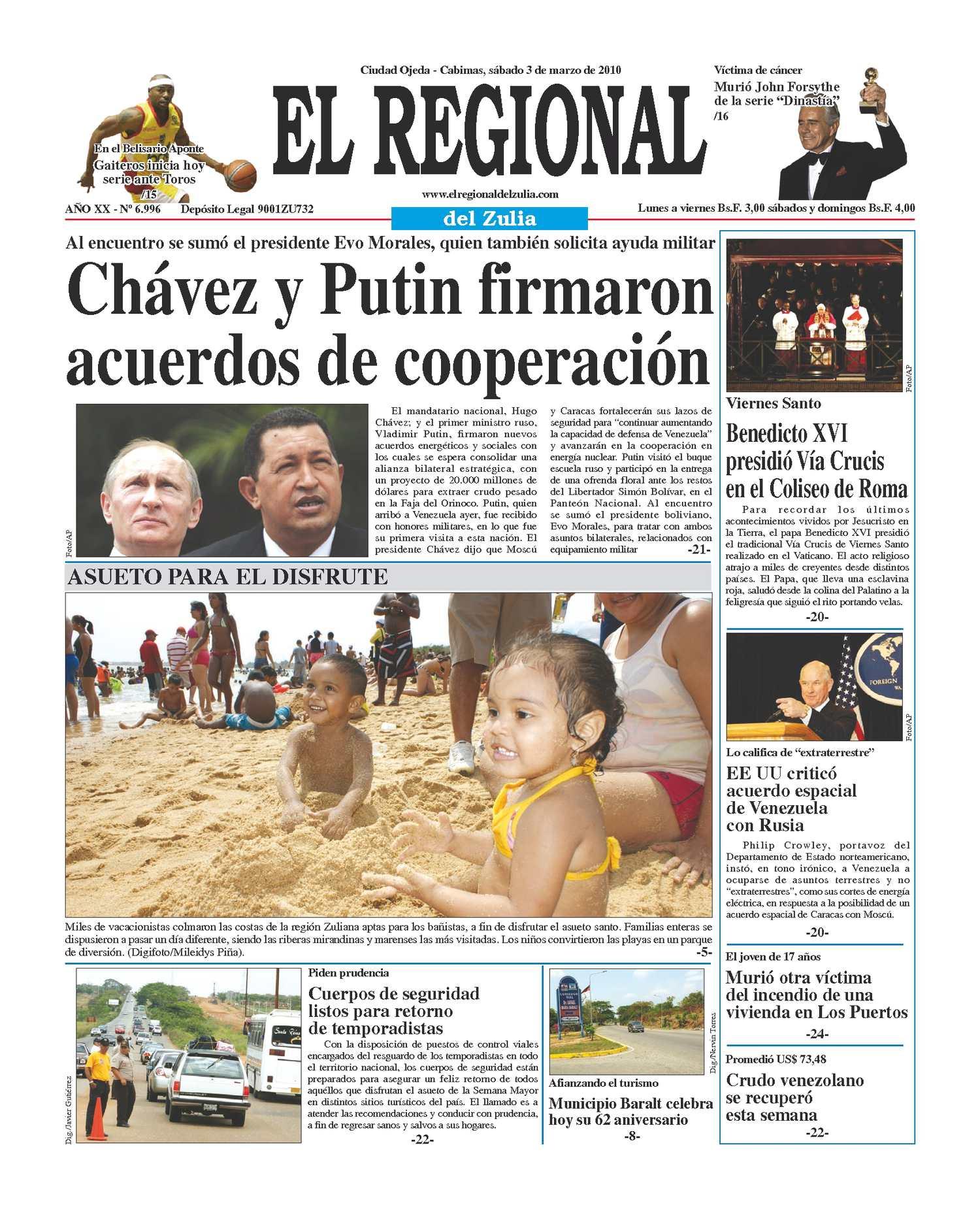 El Regional del Zulia | 03-04-2010