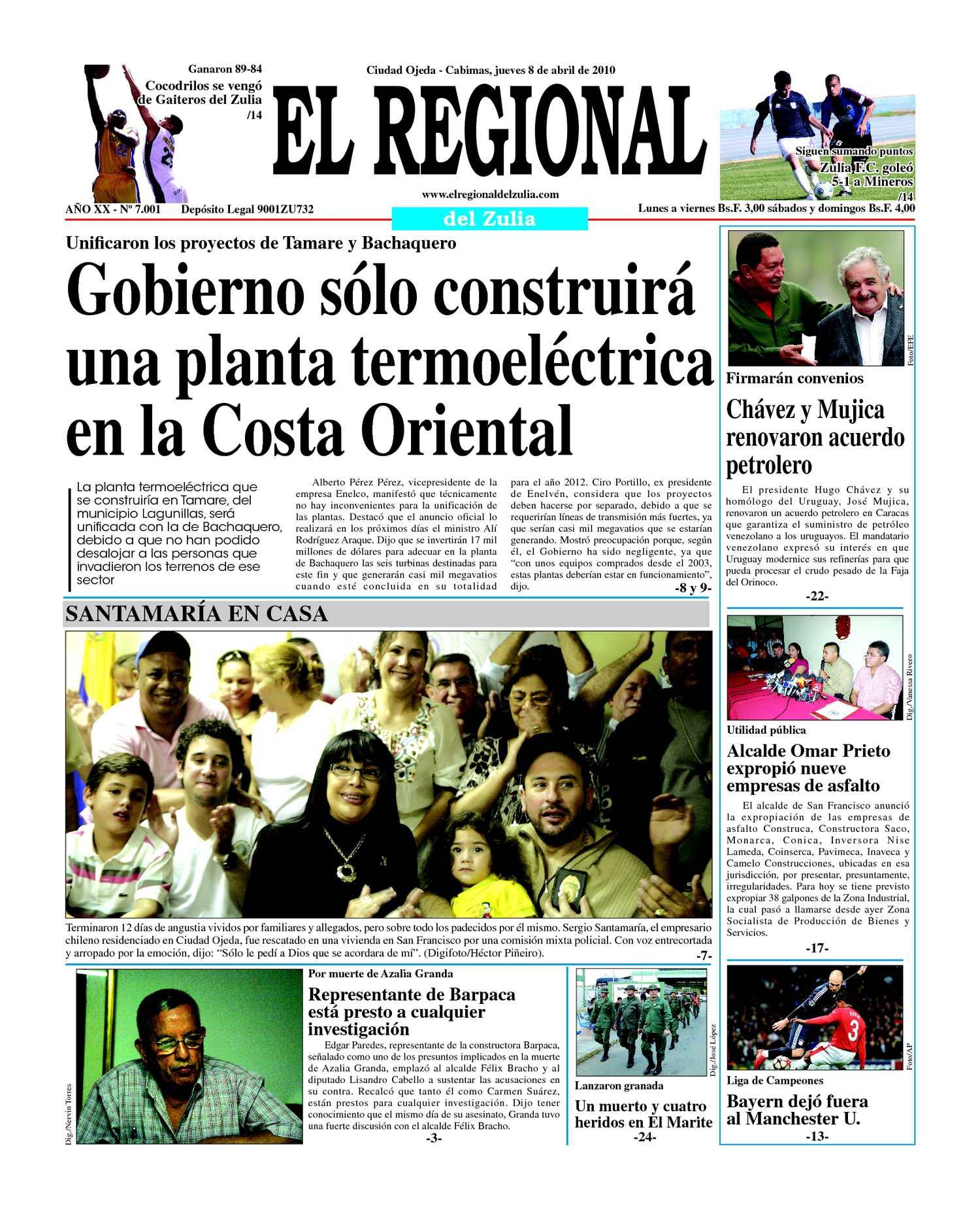 El Regional del Zulia | 08-04-2010