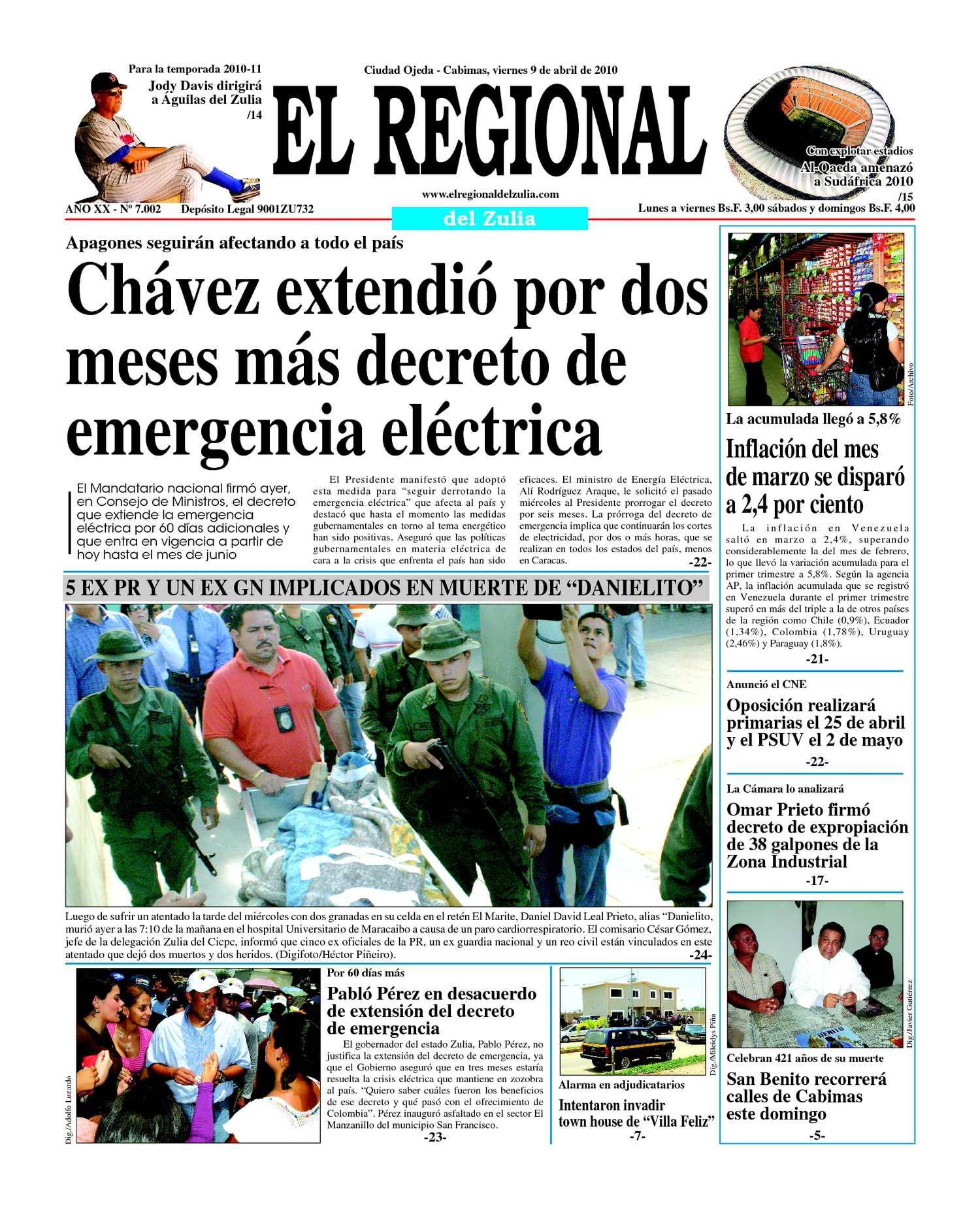 El Regional del Zulia | 09-04-2010
