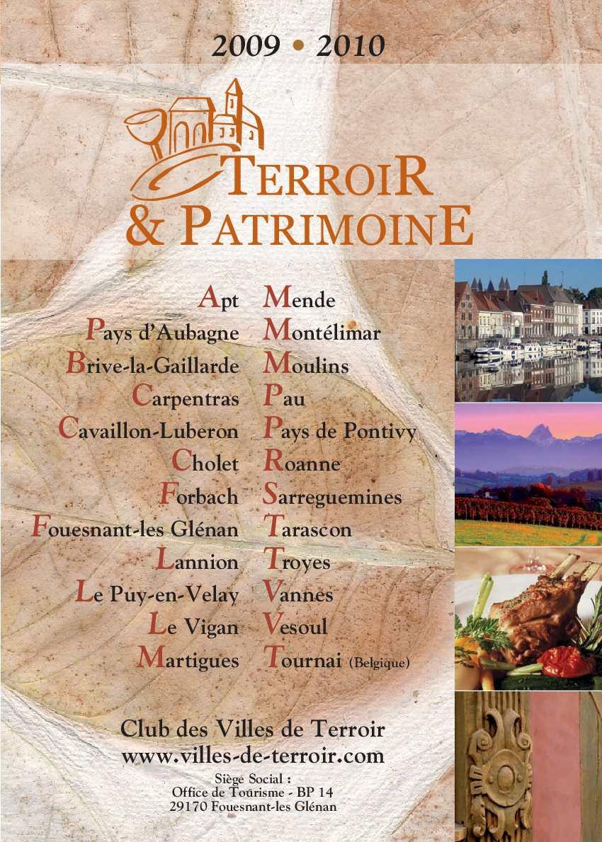Calam o guide des villes de terroir 2009 2010 - Office de tourisme de cavaillon ...