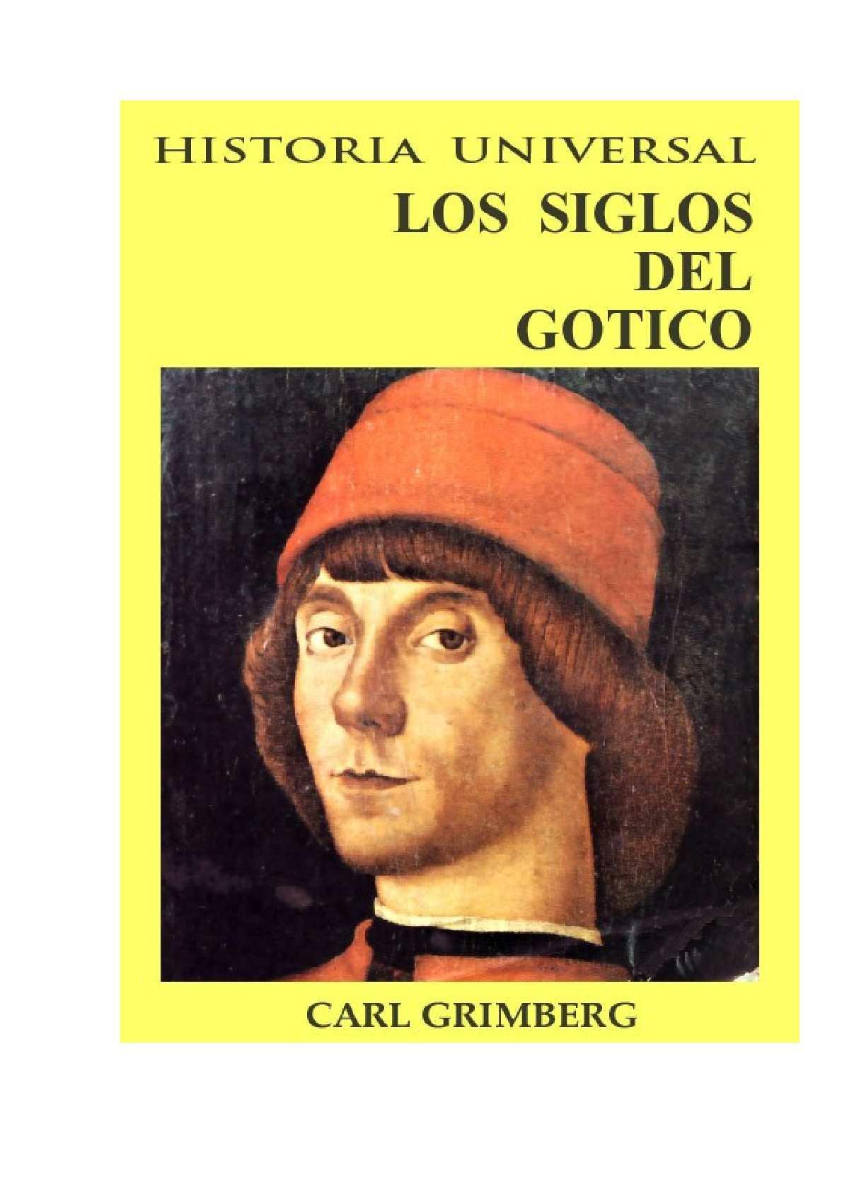 Los siglos del Gótico - Carl Grimberg