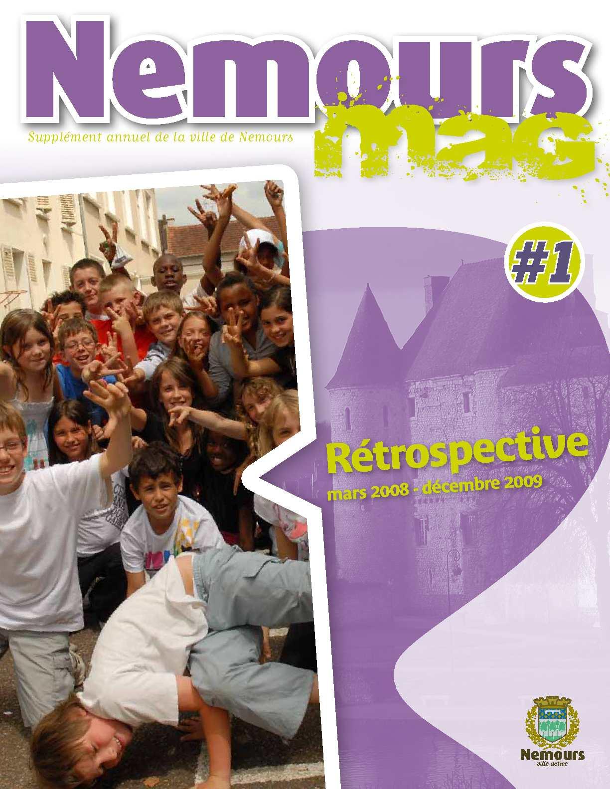 Calam o nemours infos retrospectives 2009 for Entreprise nemours