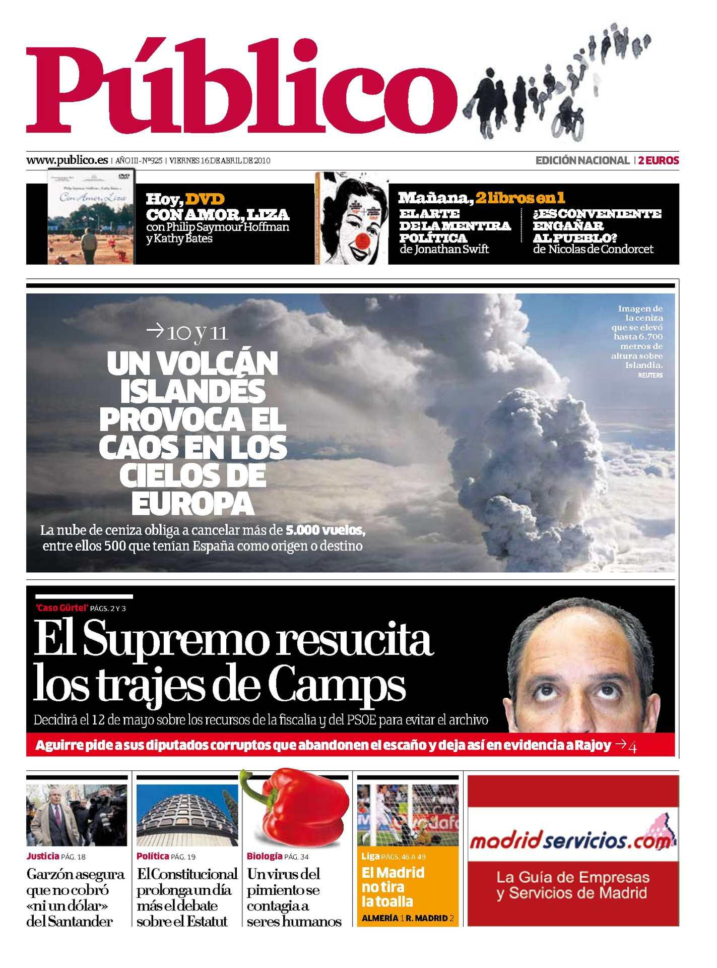 62a4a874110 Calaméo - Diario PÚBLICO 16-04-2010