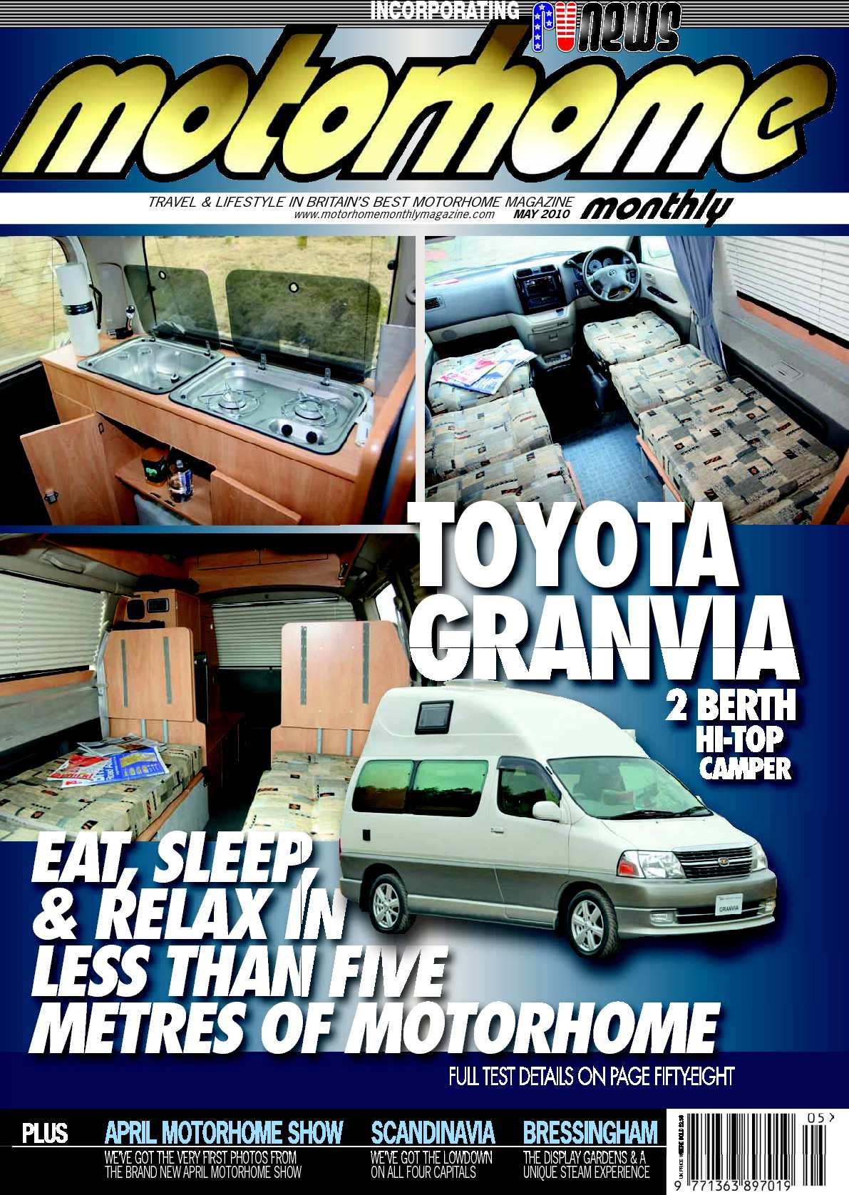 Calaméo May 2010 Motorhome Monthly Magazine