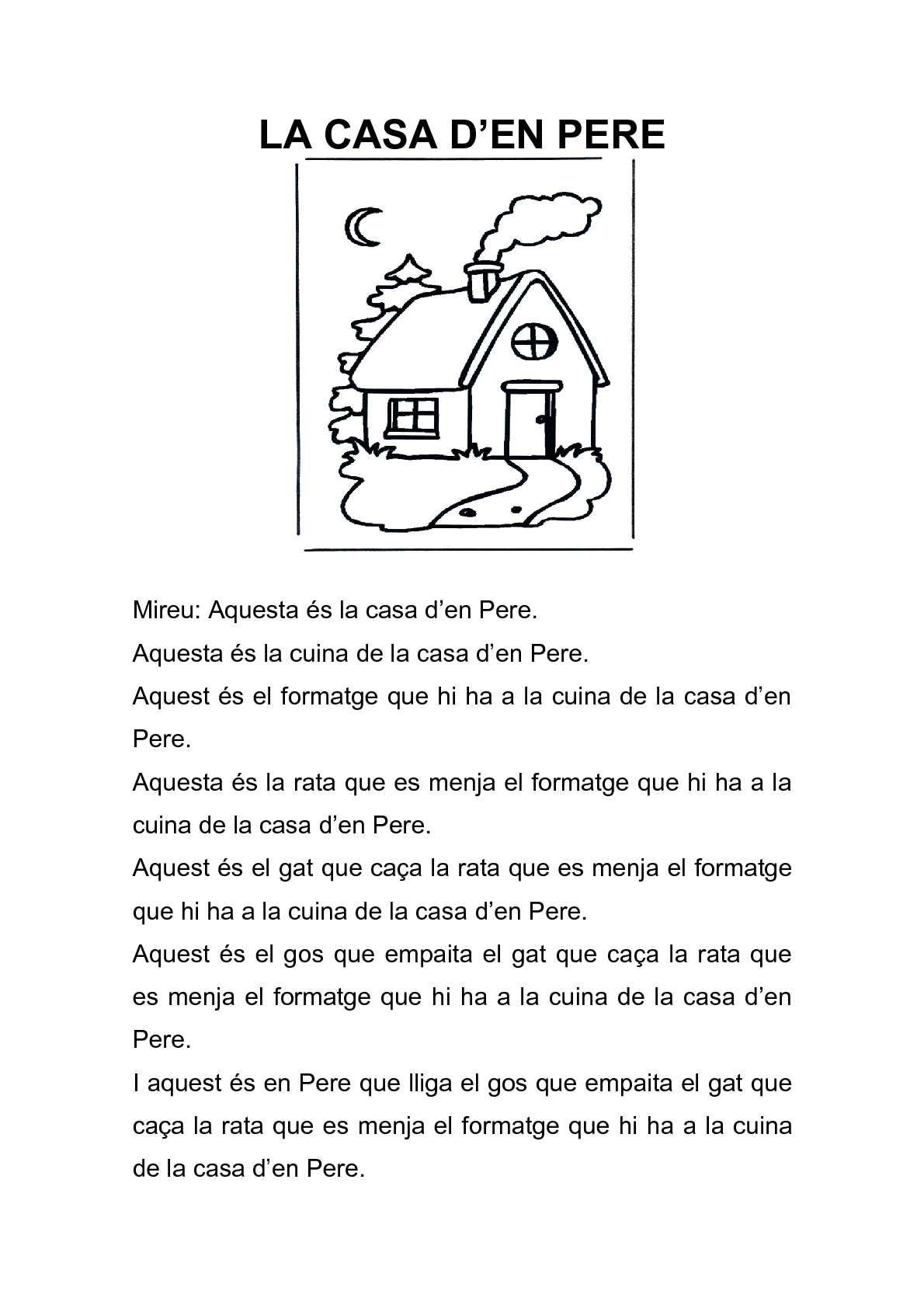 La casa d'en Pere