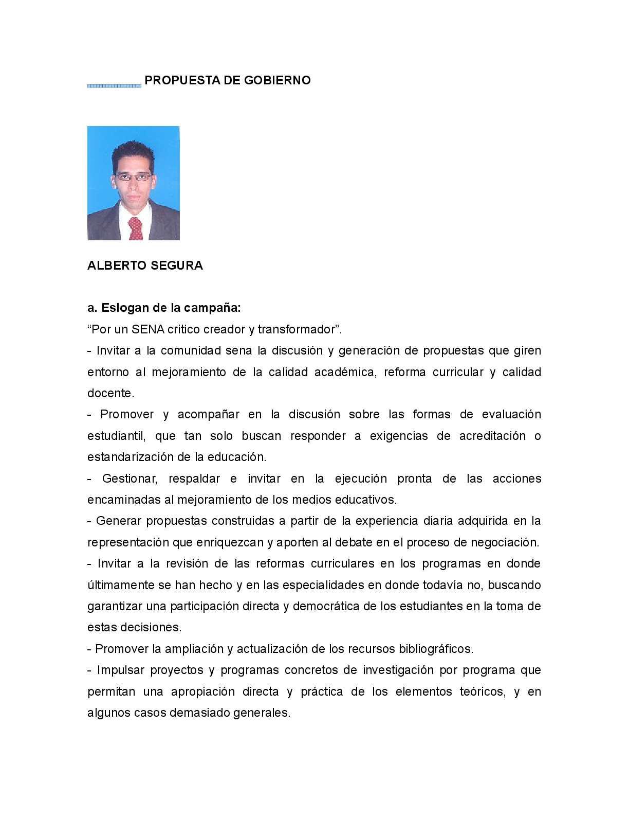 Calaméo - Propuestas Representantes