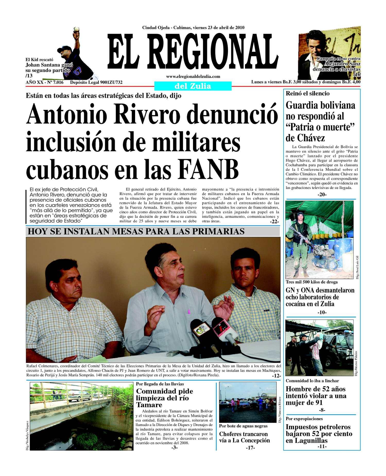 El Regional del Zuia 23-04-2010