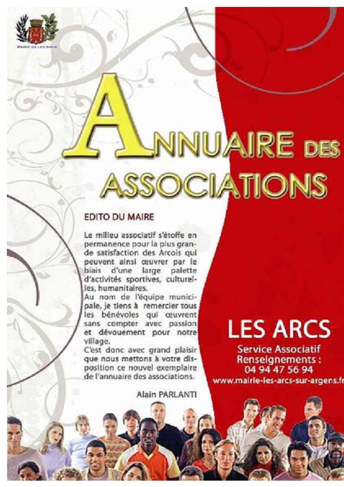 annuaire des associations 2010