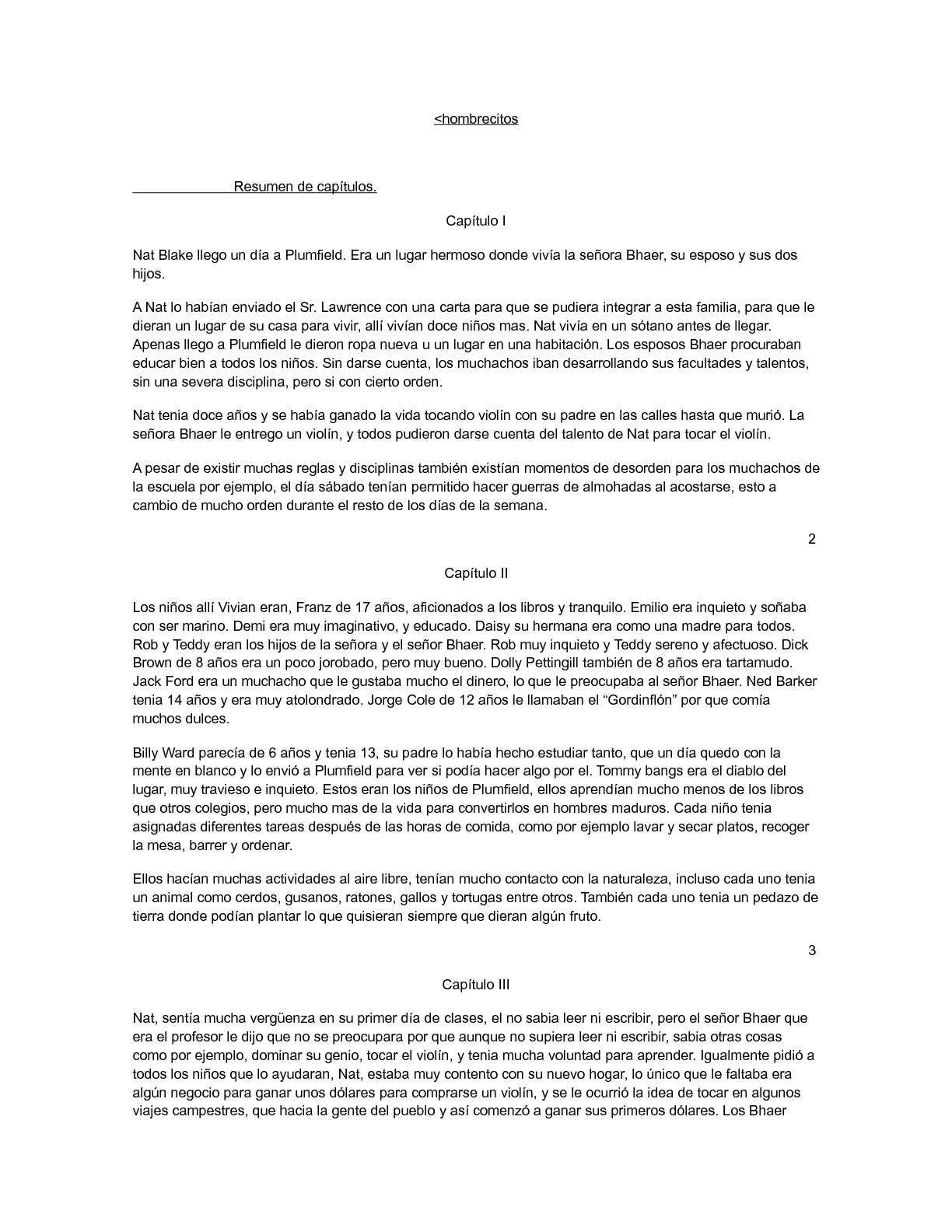 Calaméo - libro hombrecitos resumen