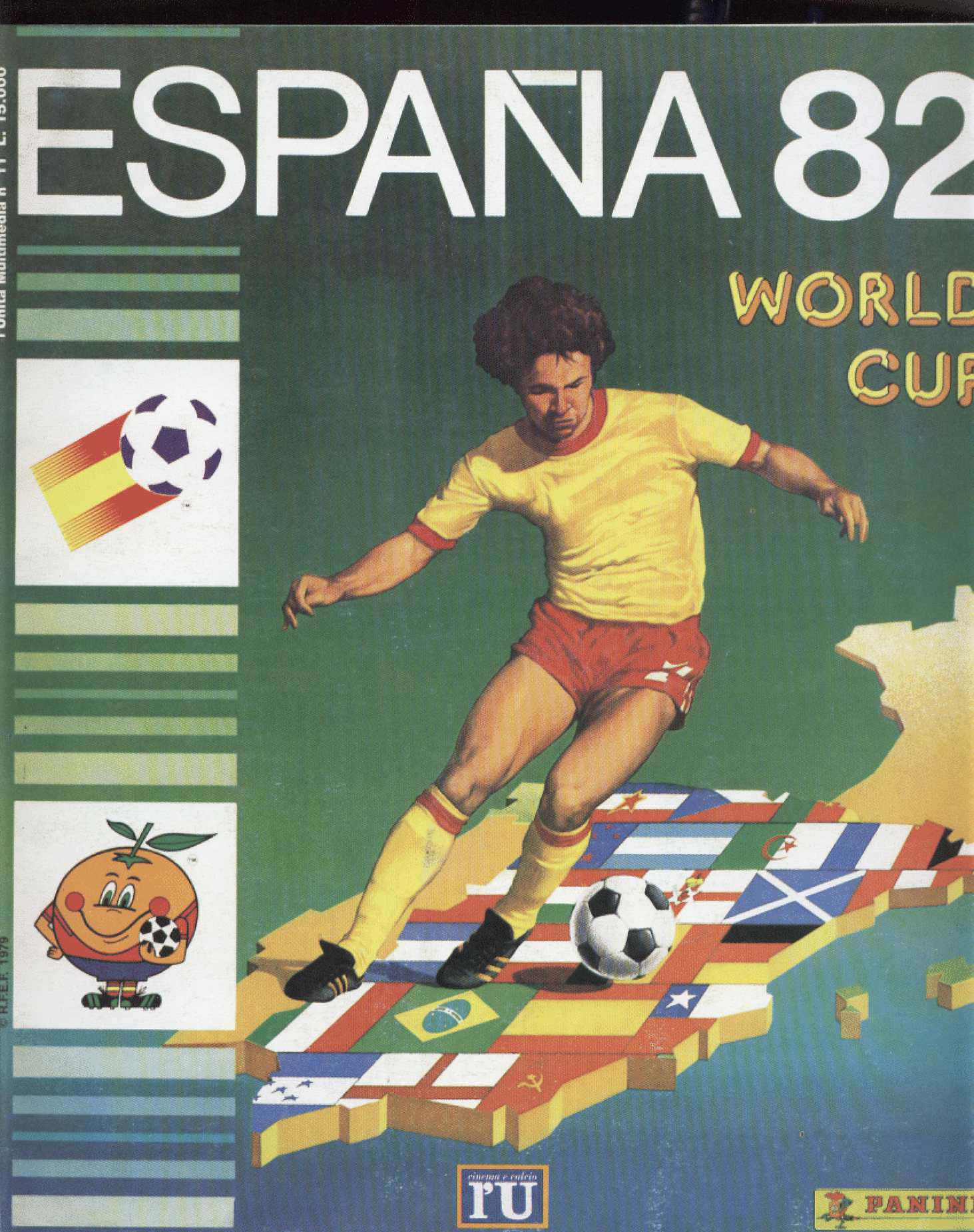 Album de Panini Mundial 1982 España