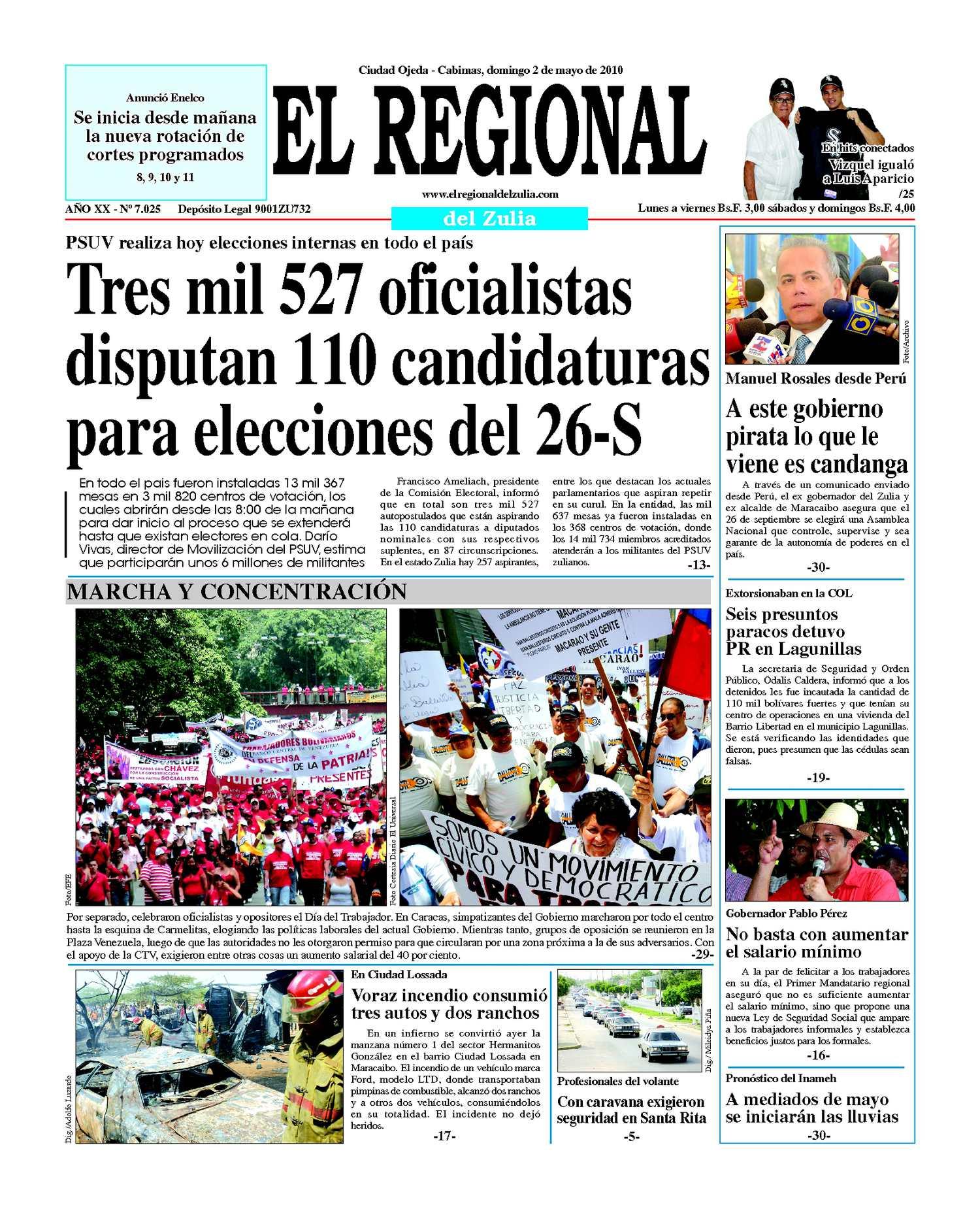 El Regional del Zulia | 02-05-2010