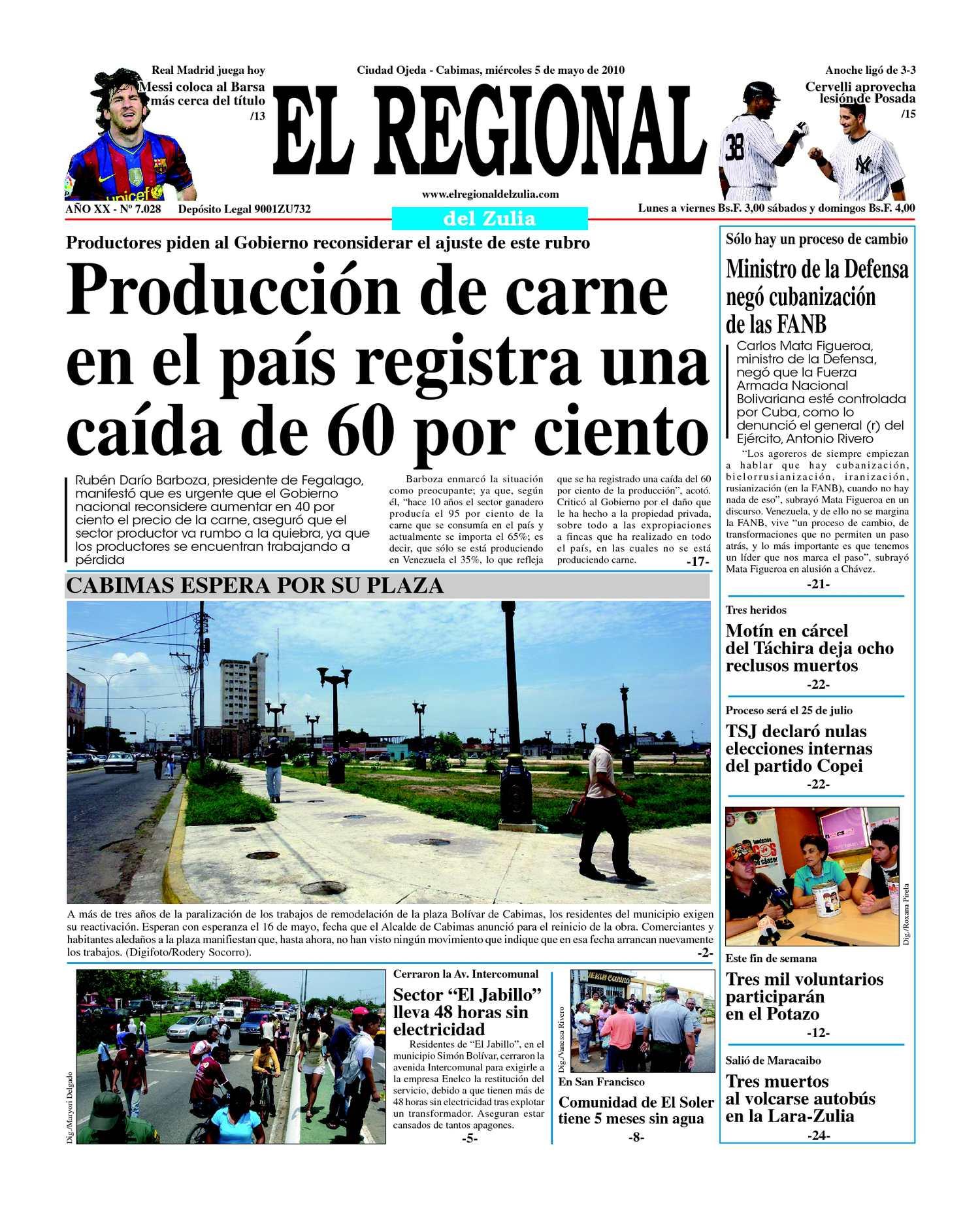 El Regional del Zulia | 05-05-2010