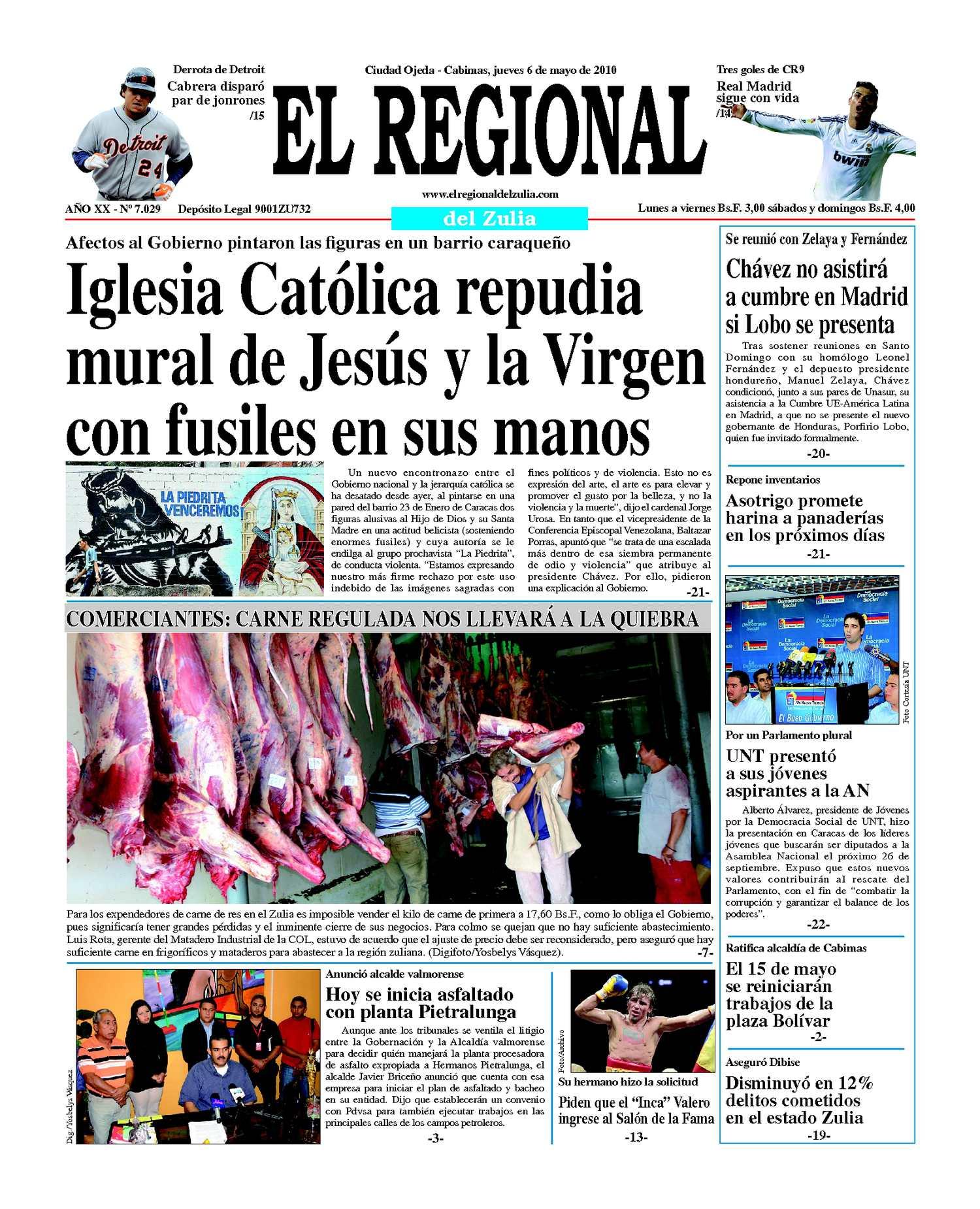 El Regional del Zulia | 06-05-2010