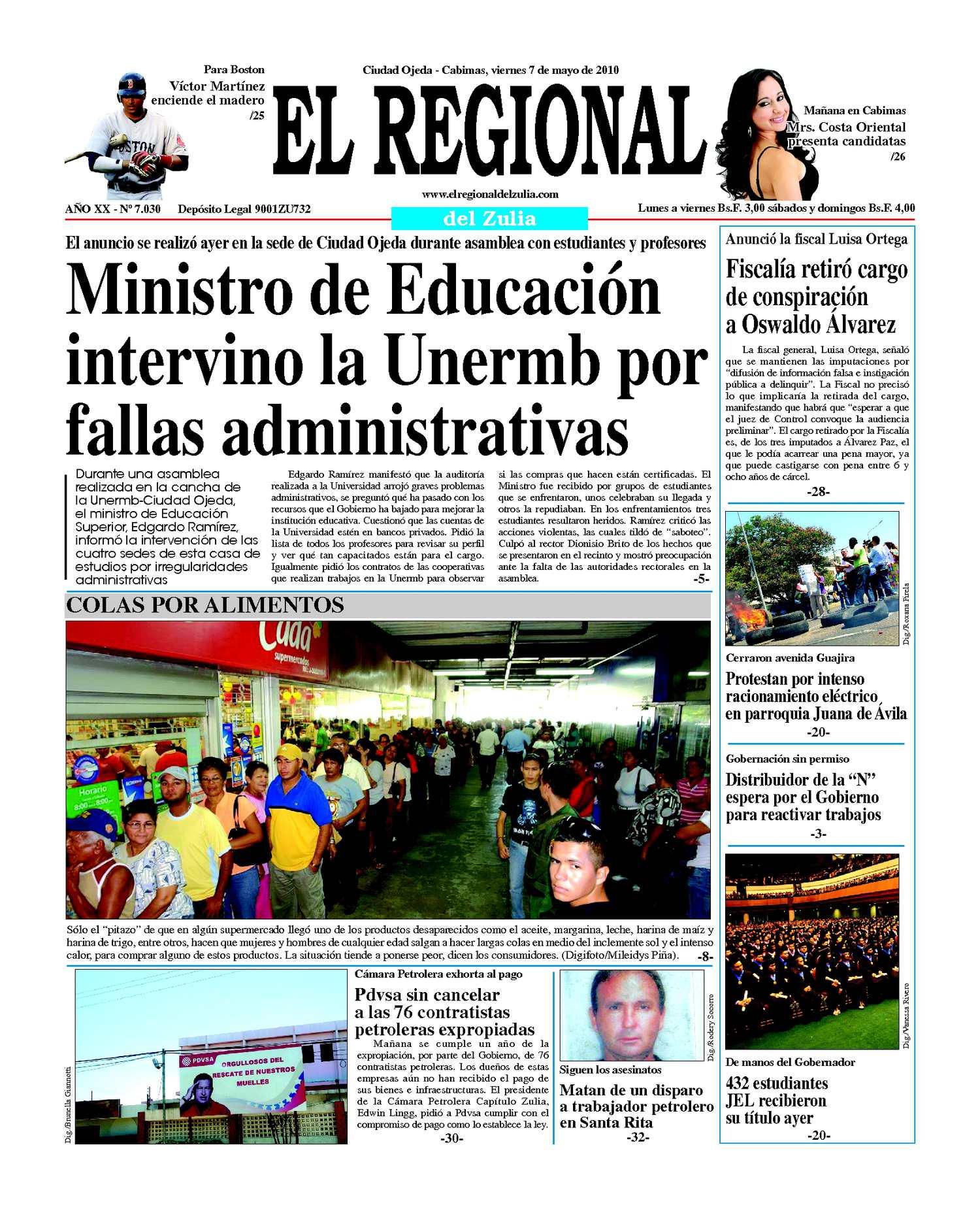 El Regional del Zulia | 07-05-2010