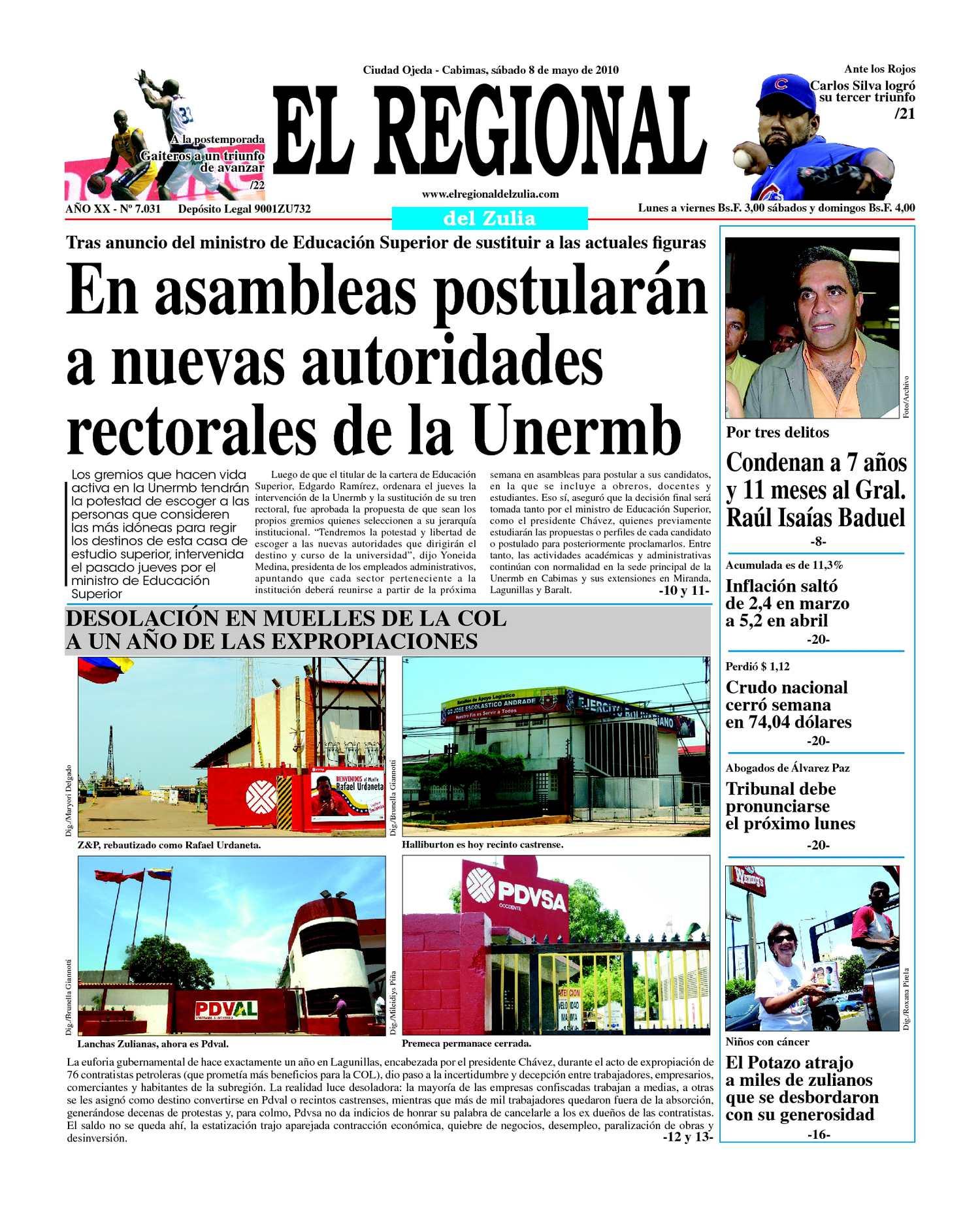 El Regional del Zulia | 08-05-2010
