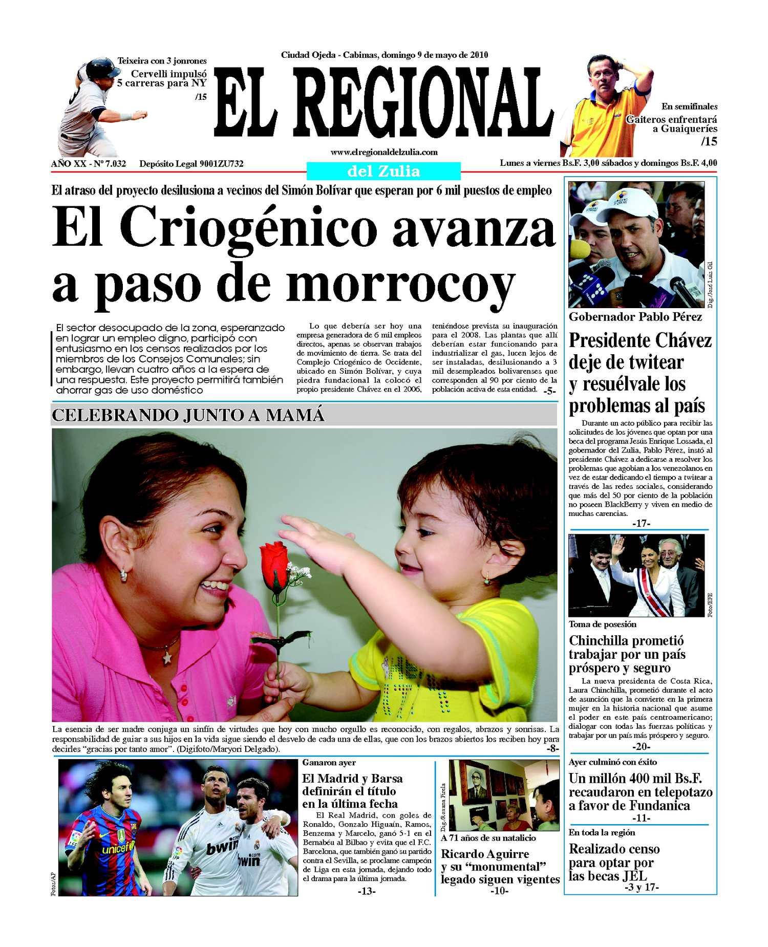 El Regional del Zulia 09-05-2010