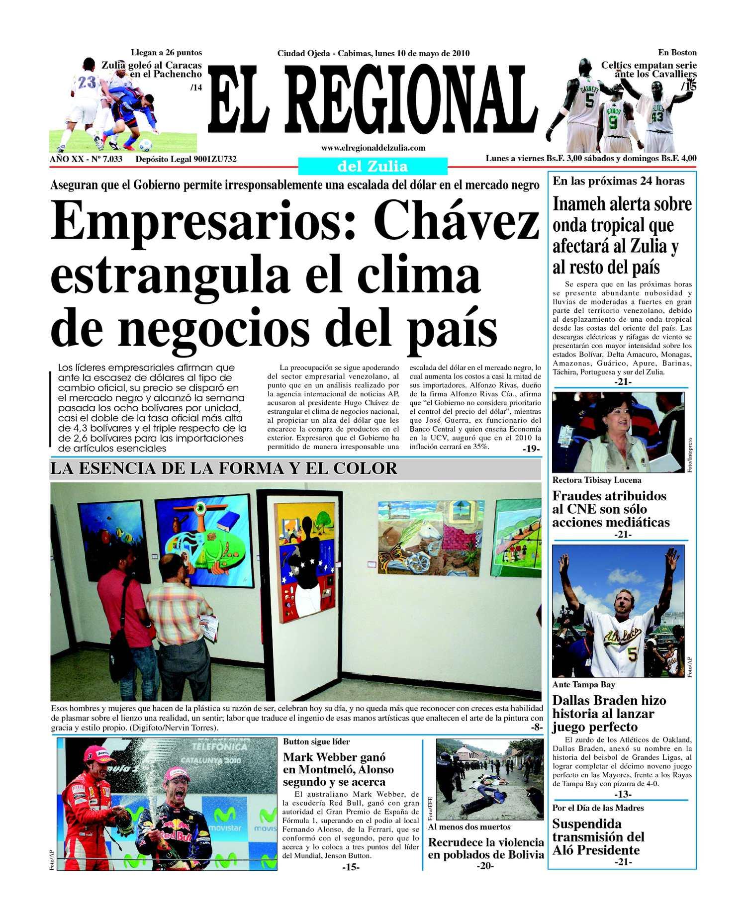 Calaméo - El Regional del Zulia 10-05-2010