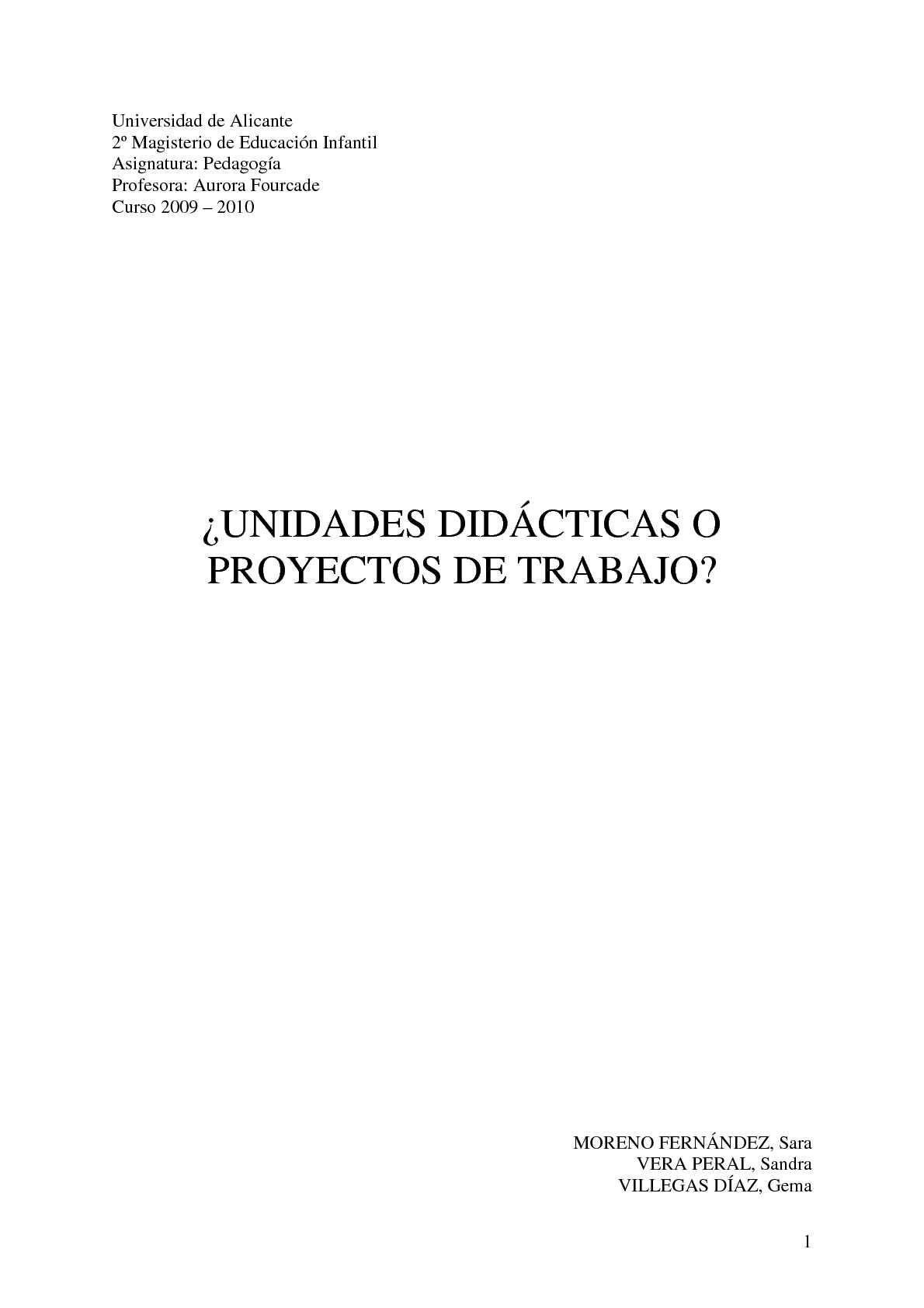 Calaméo - ¿Unidades didácticas o Proyectos de trabajo?