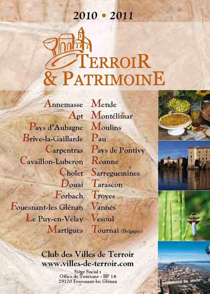 Calam o guide des villes de terroir 2010 2011 - Office de tourisme de cavaillon ...