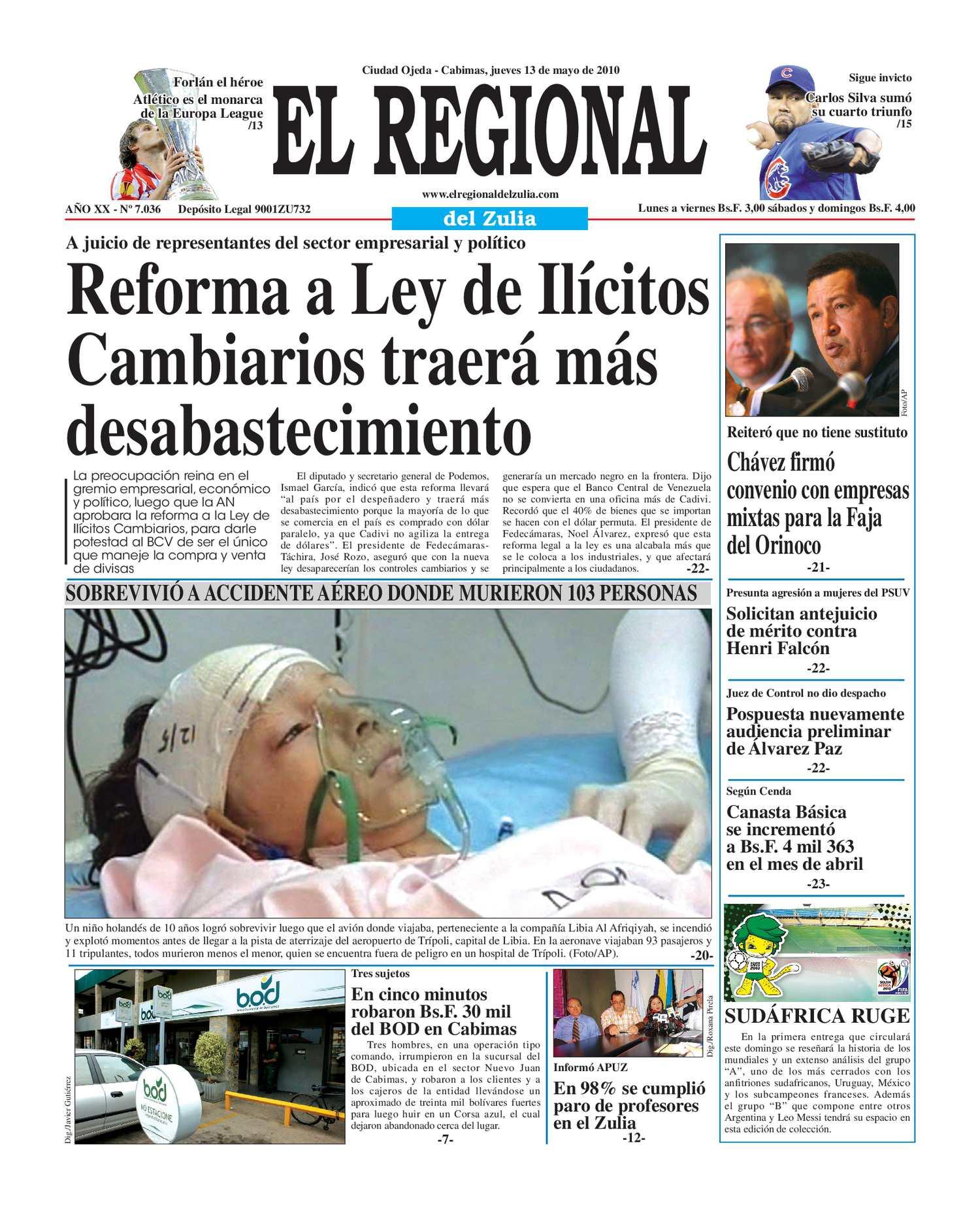 El Regional del Zulia 13-05-2010