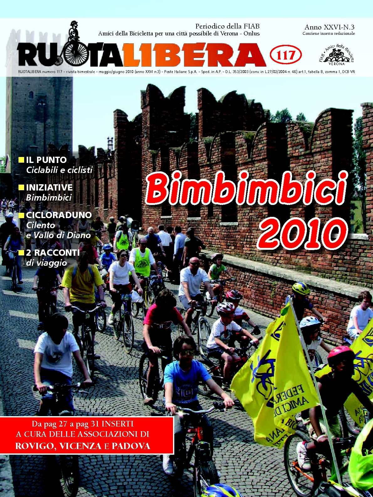Ruotalibera 117 (maggio/giugno 2010) - FIAB AdB Verona