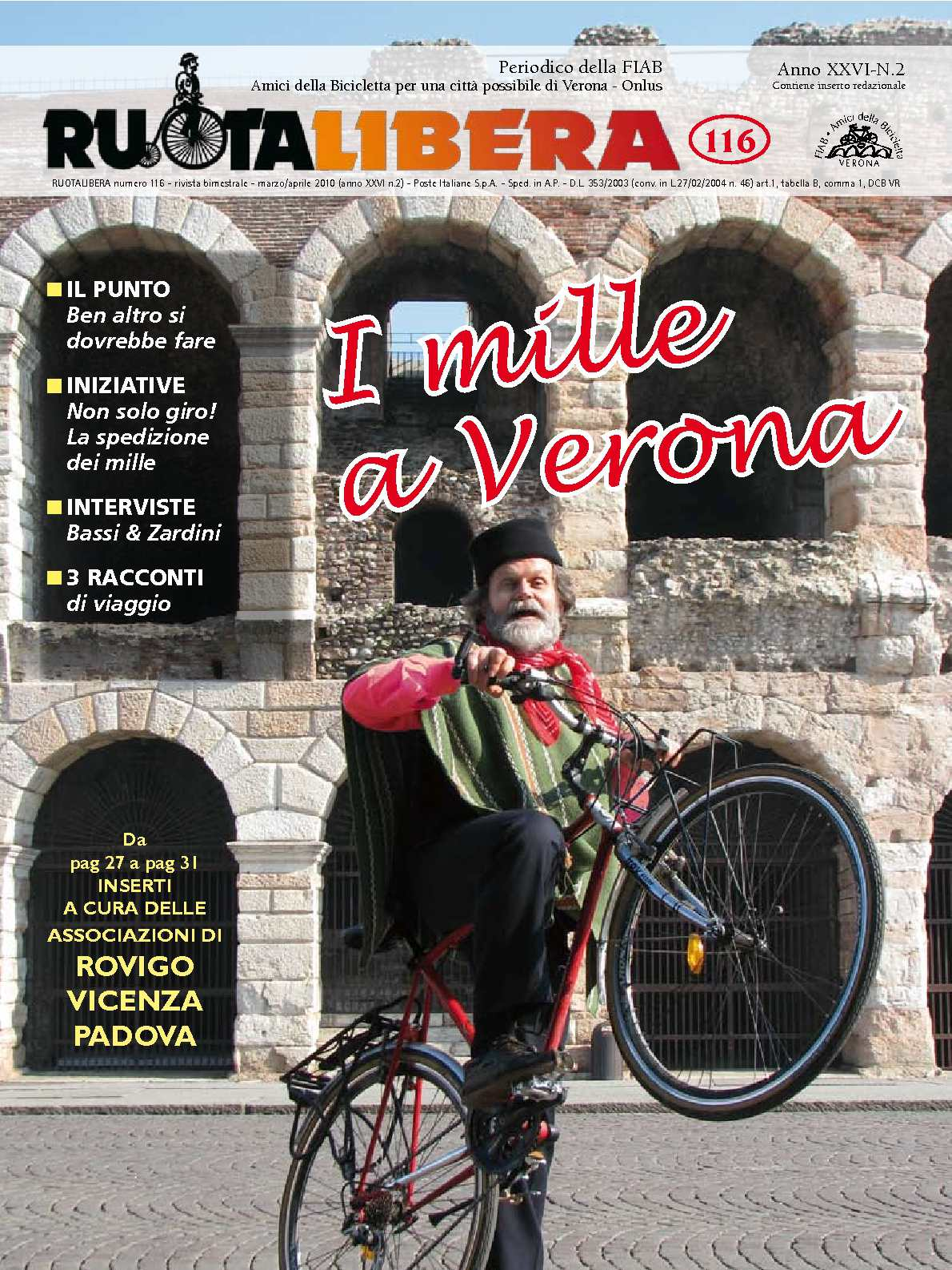 Ruotalibera 116 (marzo/aprile 2010) - FIAB AdB Verona