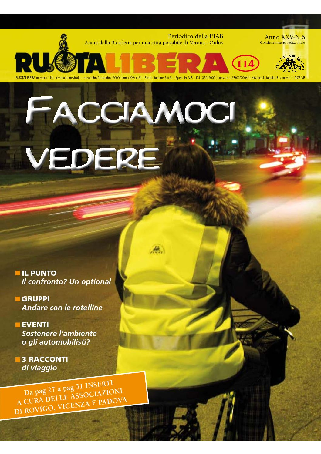 Ruotalibera 114 (novembre/dicembre 2009) - FIAB AdB Verona