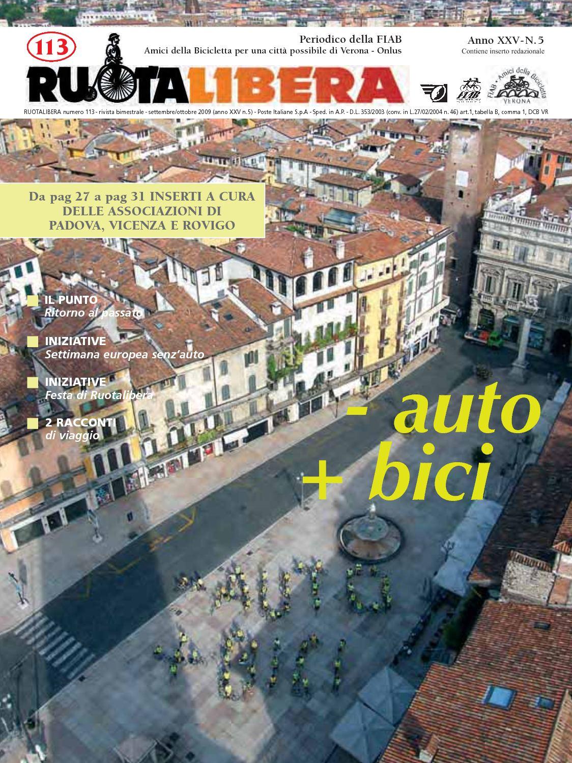 Ruotalibera 113 (settembre/ottobre 2009) - FIAB AdB Verona