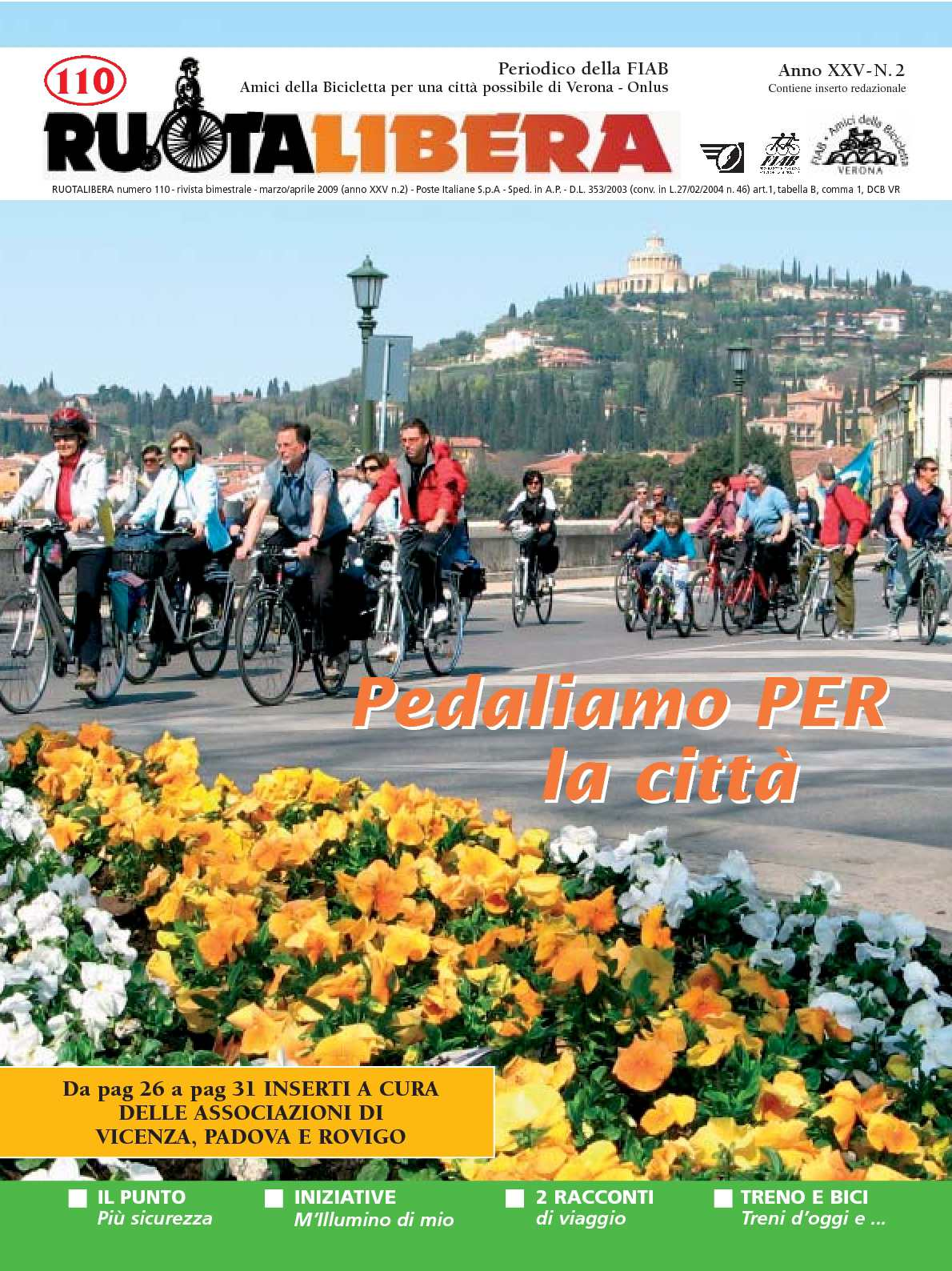 Ruotalibera 110 (marzo/aprile 2009) - FIAB AdB Verona