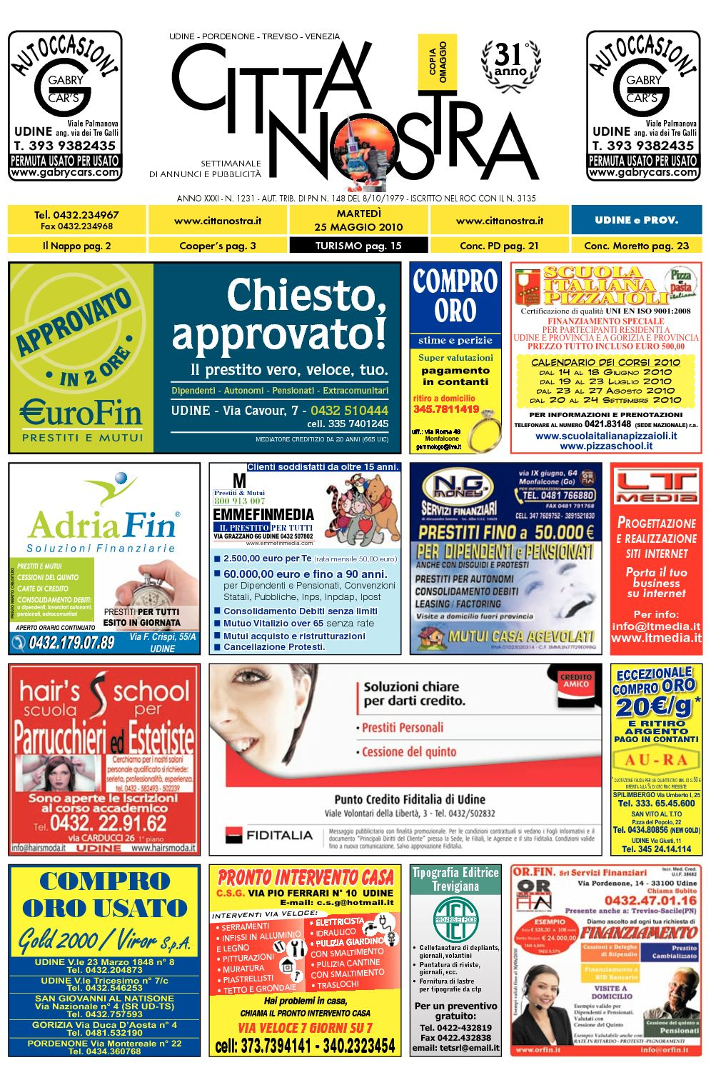 Calaméo Citt Nostra Udine Del 25 05 2010 N 1231