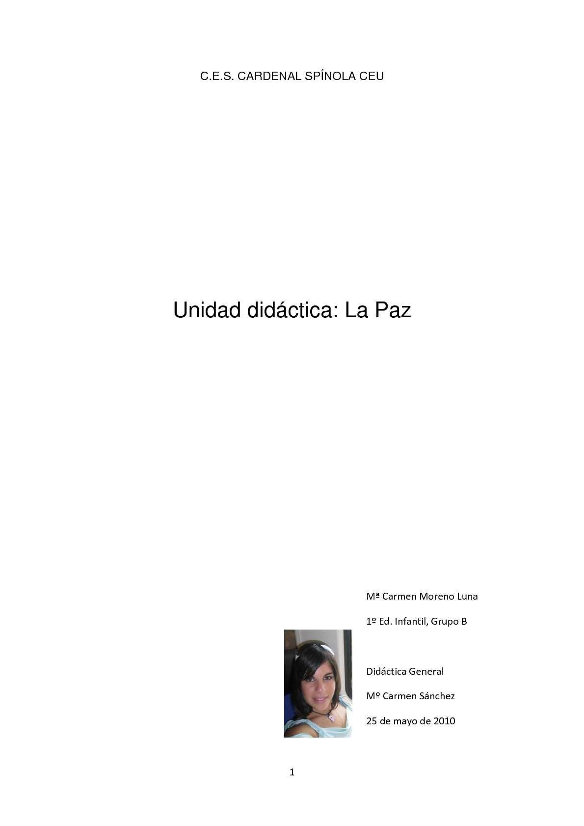 Calaméo - Unidad didáctica de LaPaz