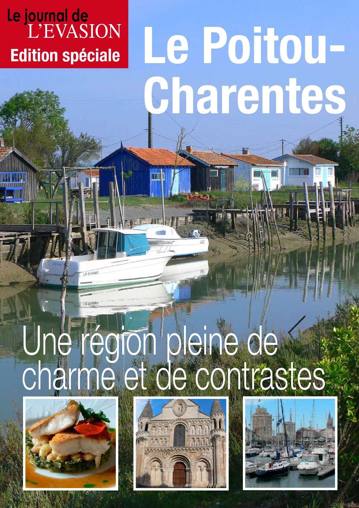 Reportage en Poitou-Charentes du Journal de l'Evasion.be