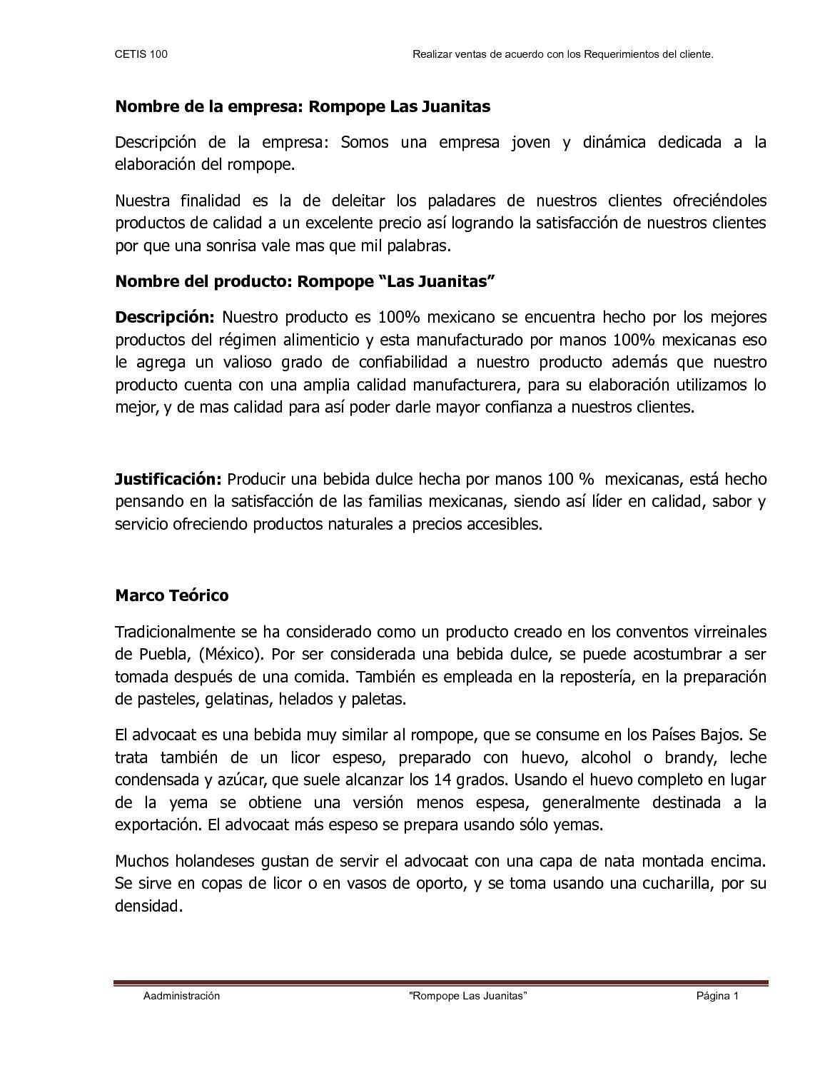 Calaméo - Rompope las Juantas